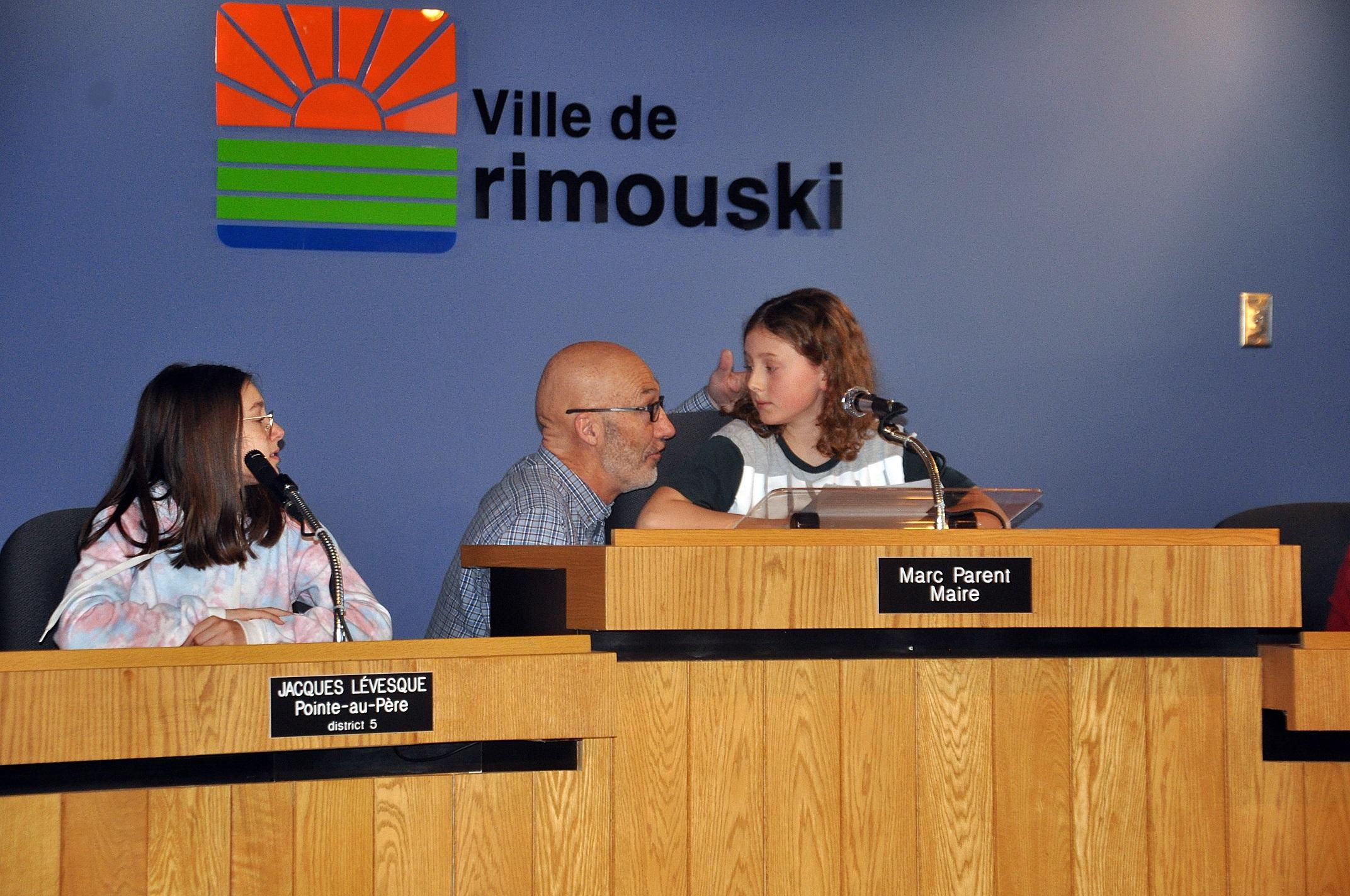 Conseil municipal d'un jour