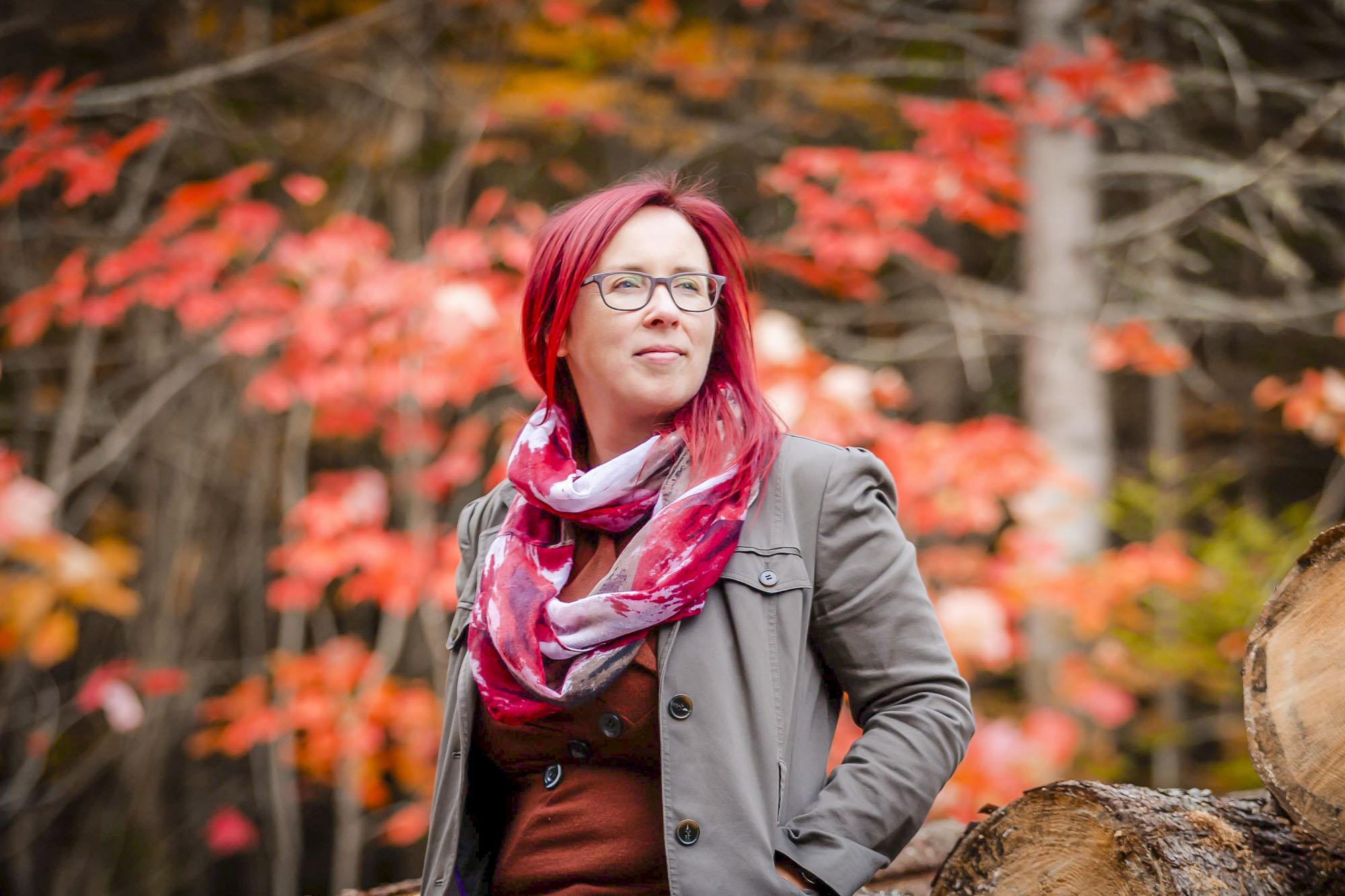 Sara Leclerc sclérose en plaques Matane défi ascension Chic-Chocs maladie