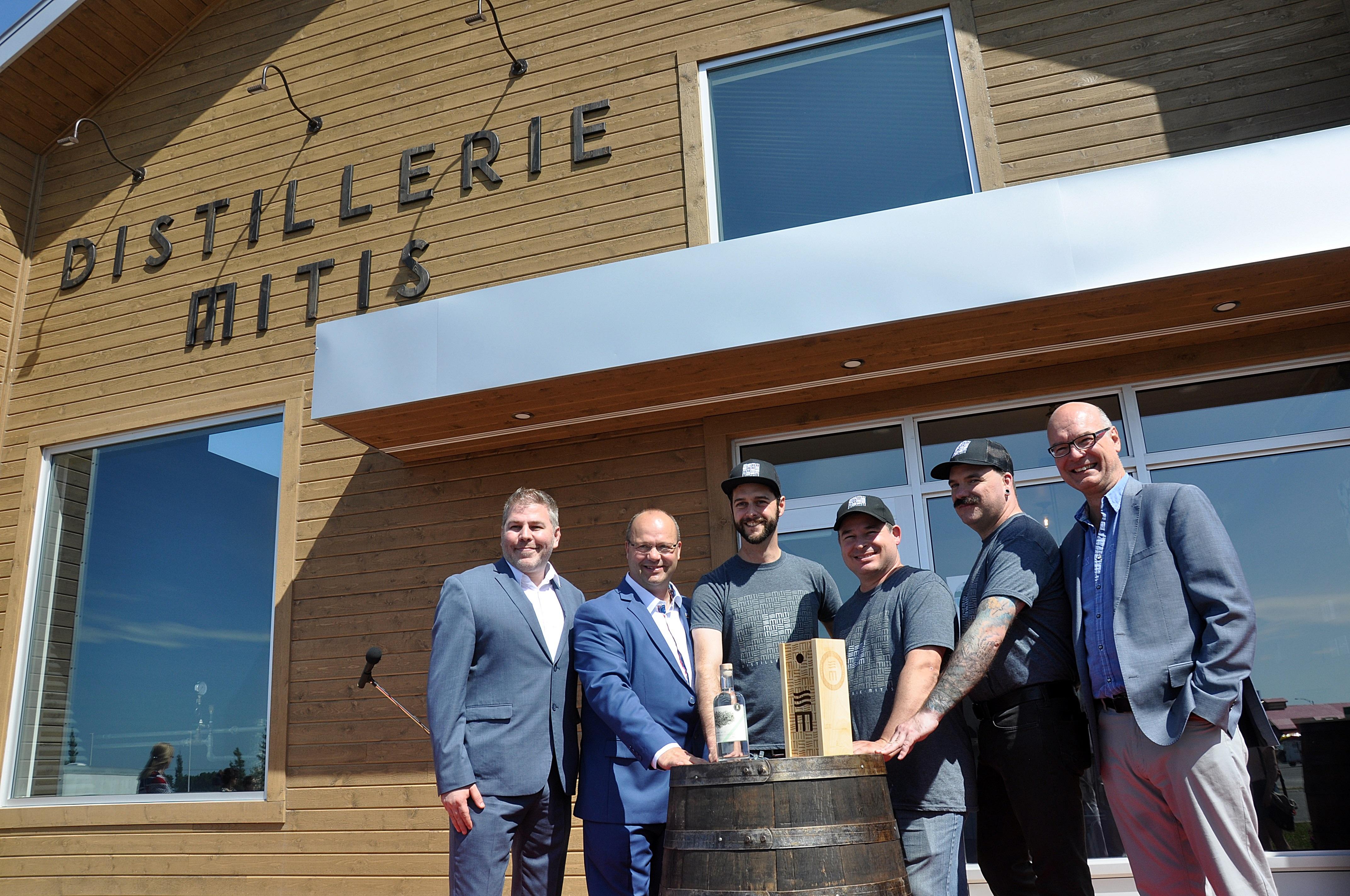 Inauguration de la distillerie Mitis Mont-Joli