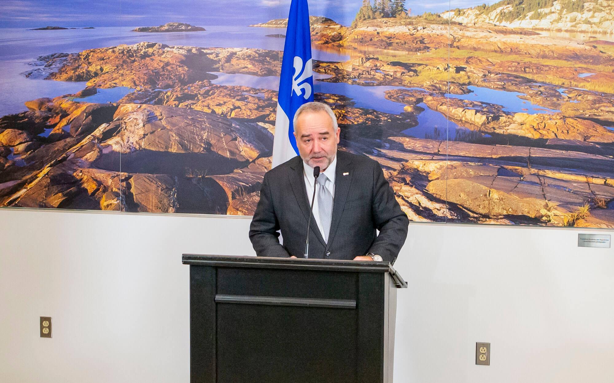 François Bertrand directeur par intérim de la Société des traversiers du Québec STQ