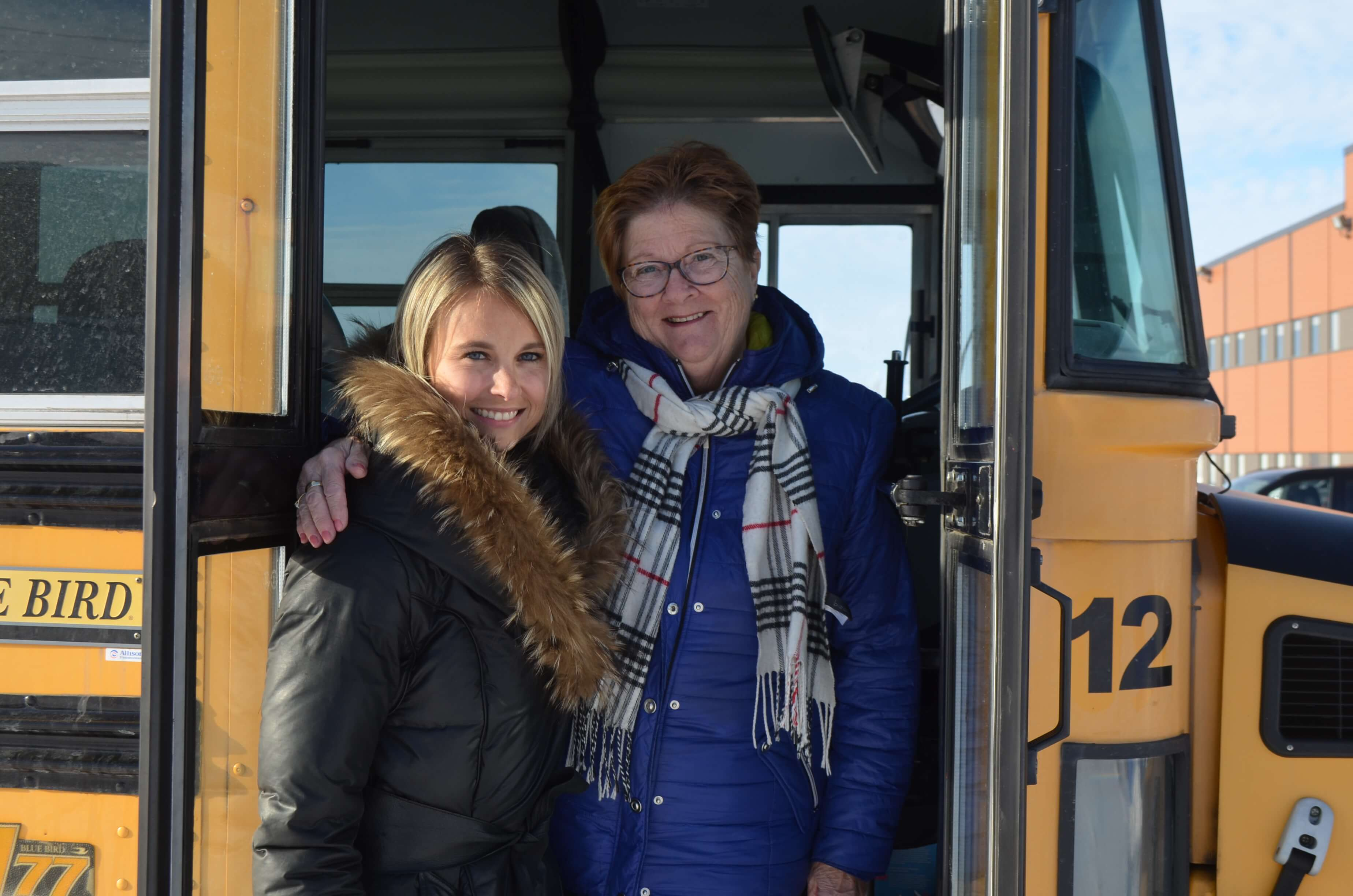 Geneviève Mallandain et Hélène Frazer - Autobus Dionne inc.