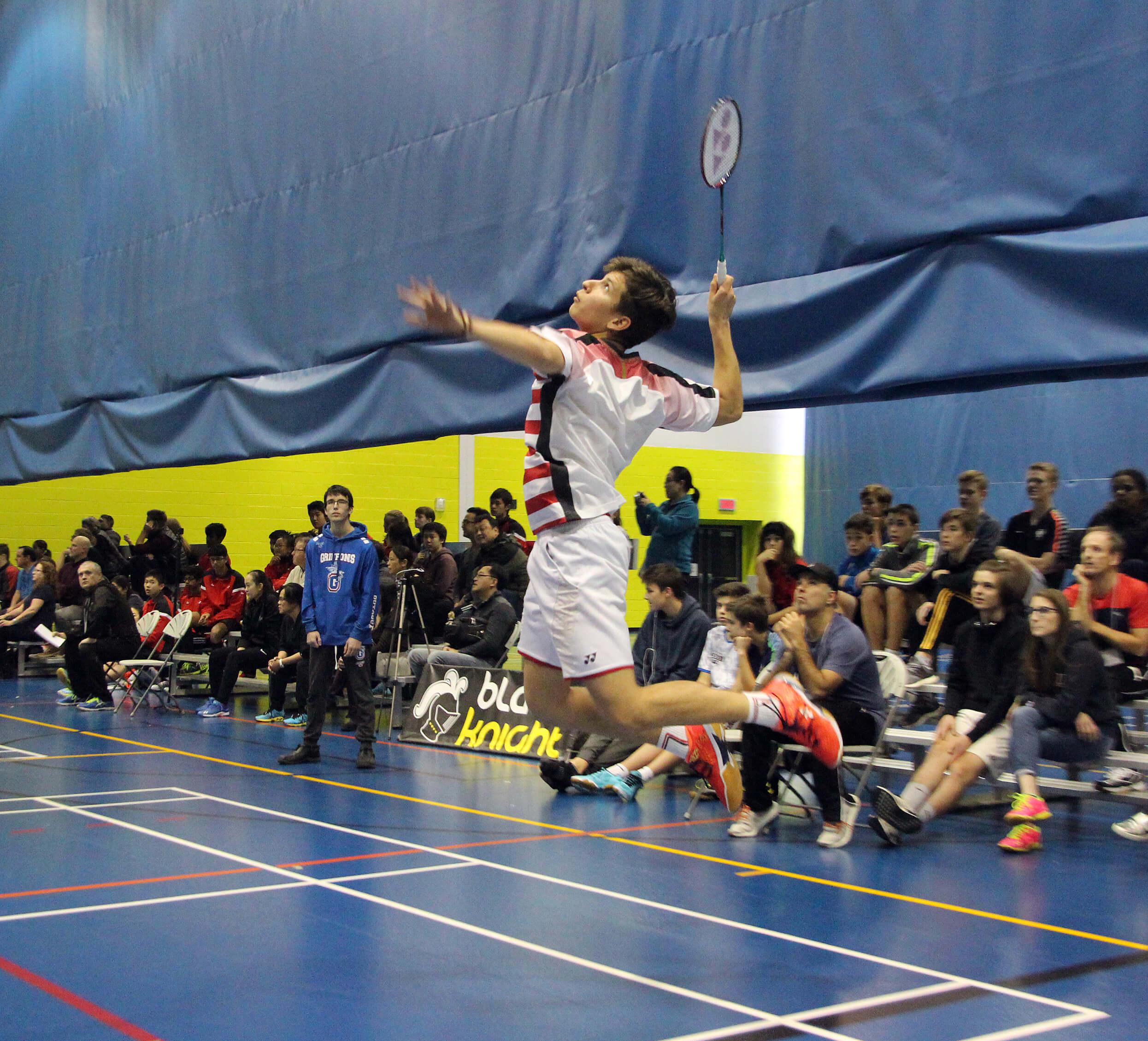 Benoit Bordeleau Badminton Noranda
