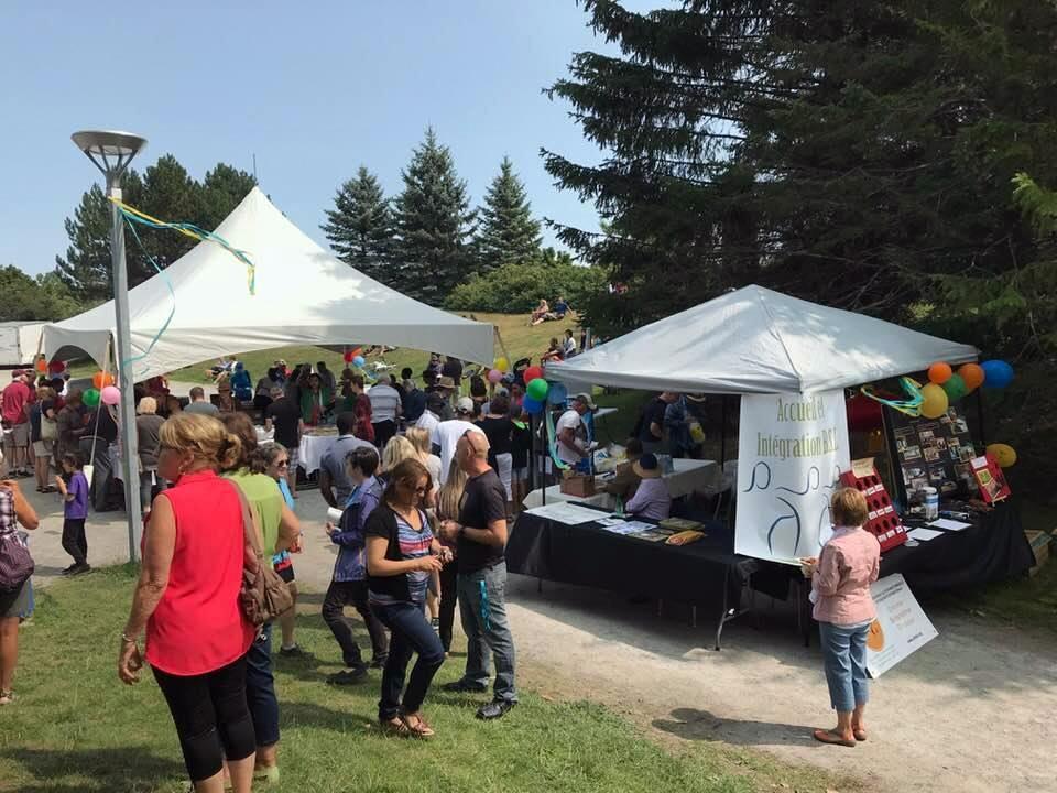Le festival interculturel de Rimouski accueille plusieurs démonstrations de danse, musique et bouchées de diverses cultures au parc Beauséjour de Rimouski. Ici : l'événement en 2018.