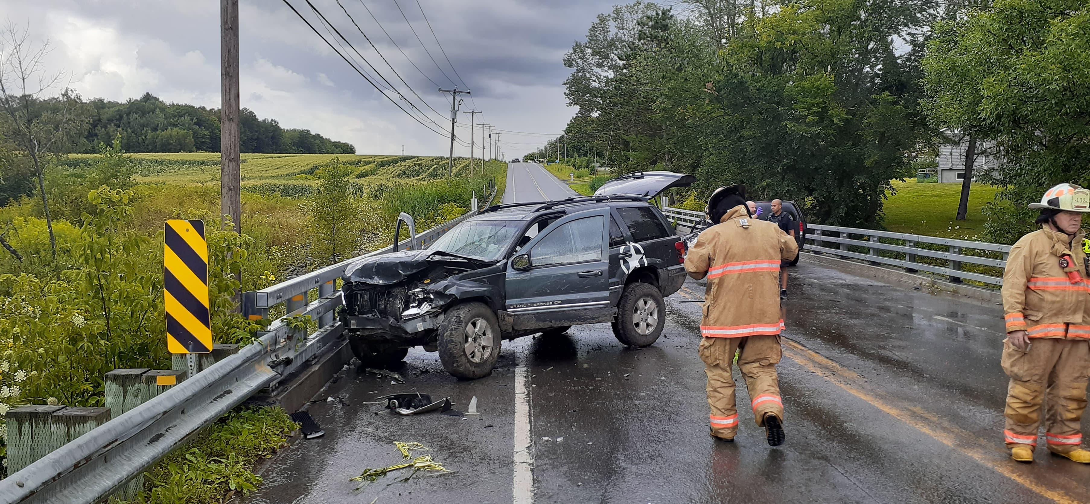 Accident à L'Assomption