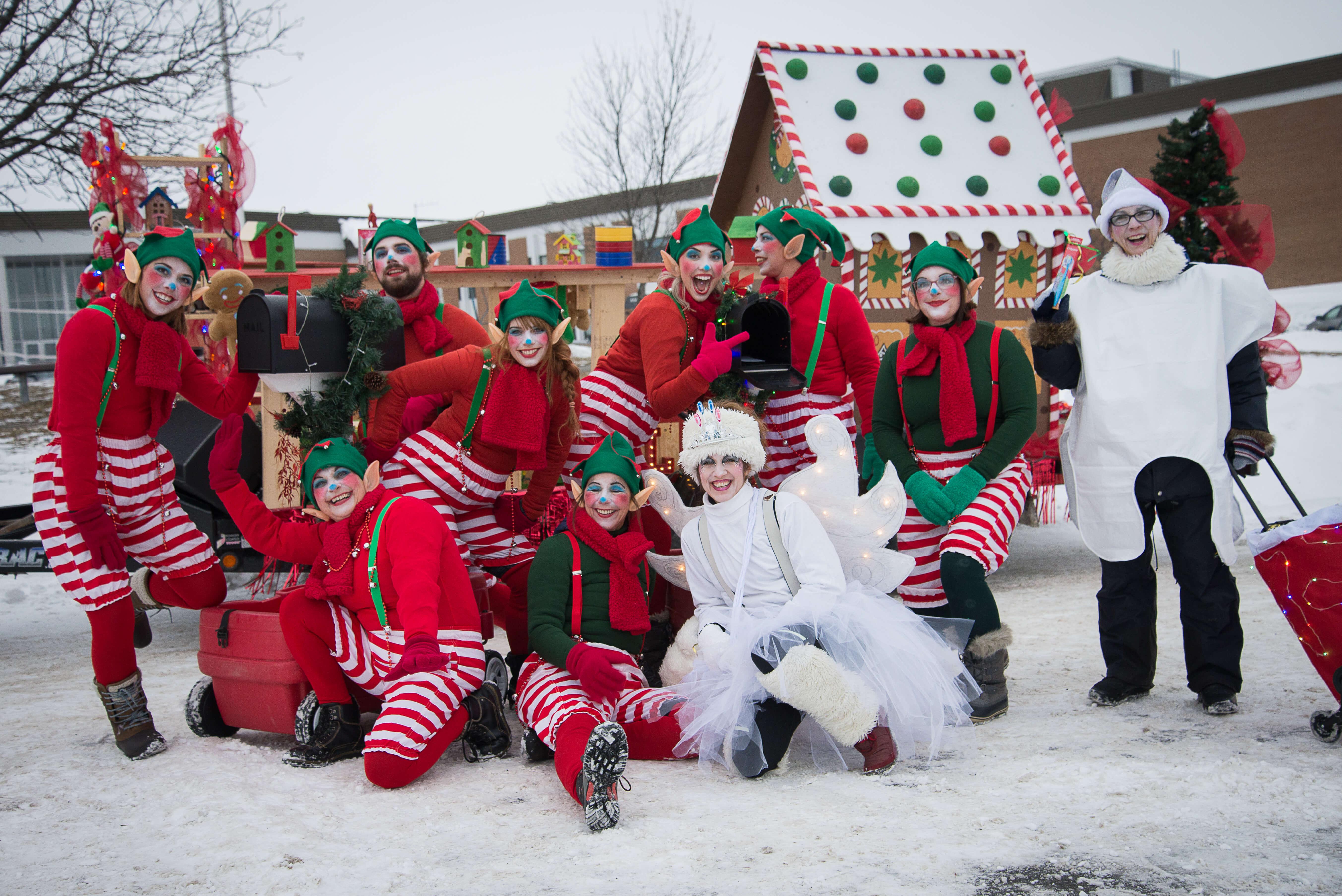parade de Noël d'Amqui