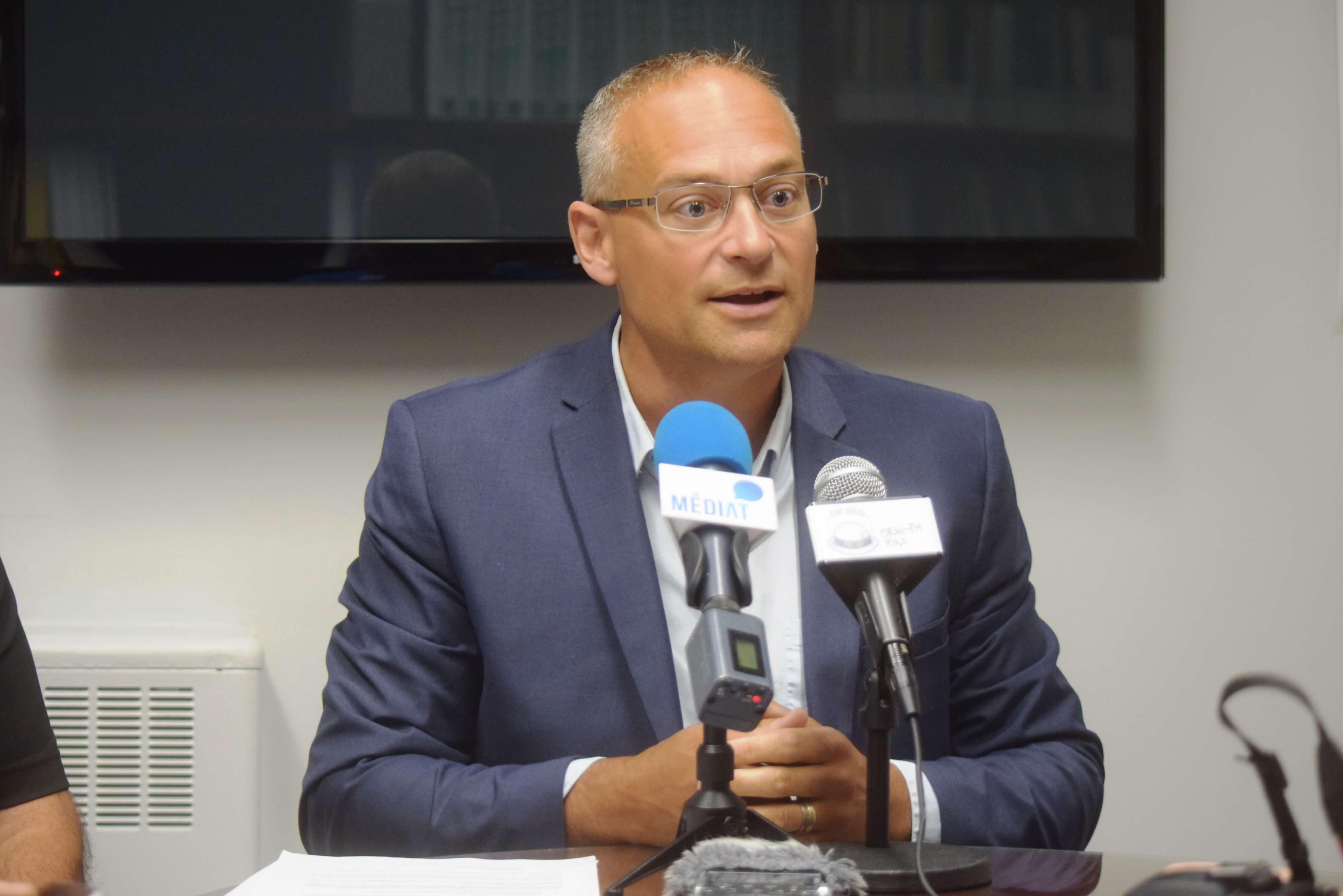 Sébastien D'Astous maire Amos