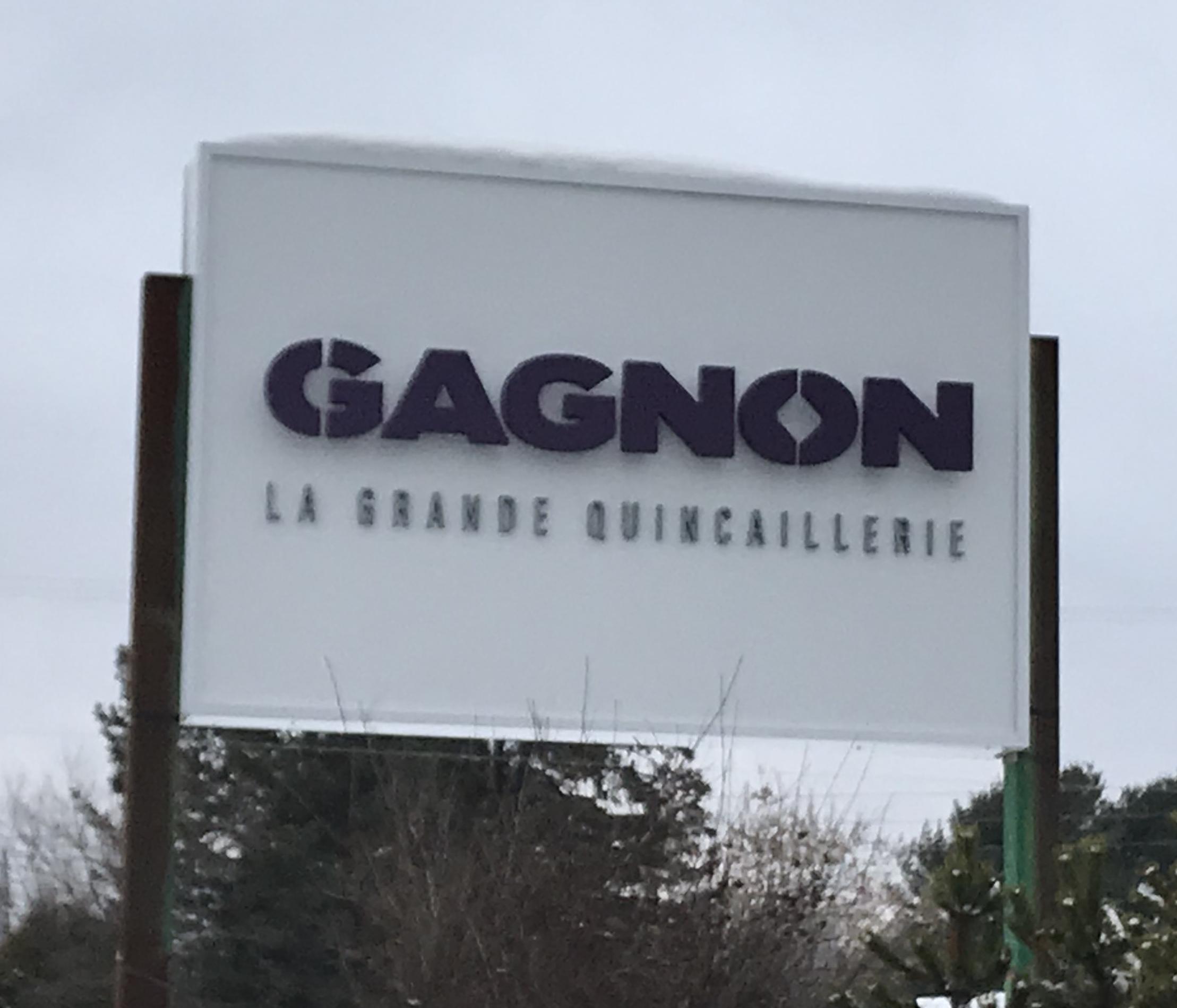 Gagnon bannière