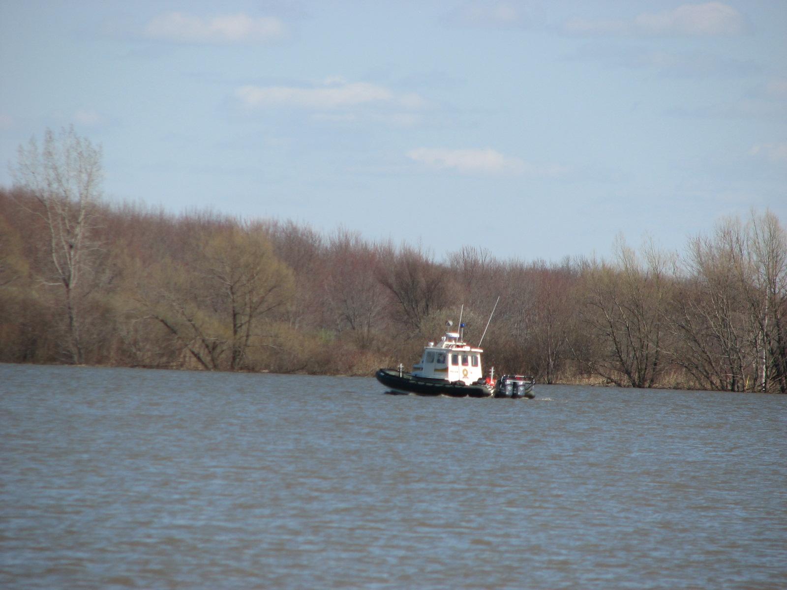 bateau de la SQ