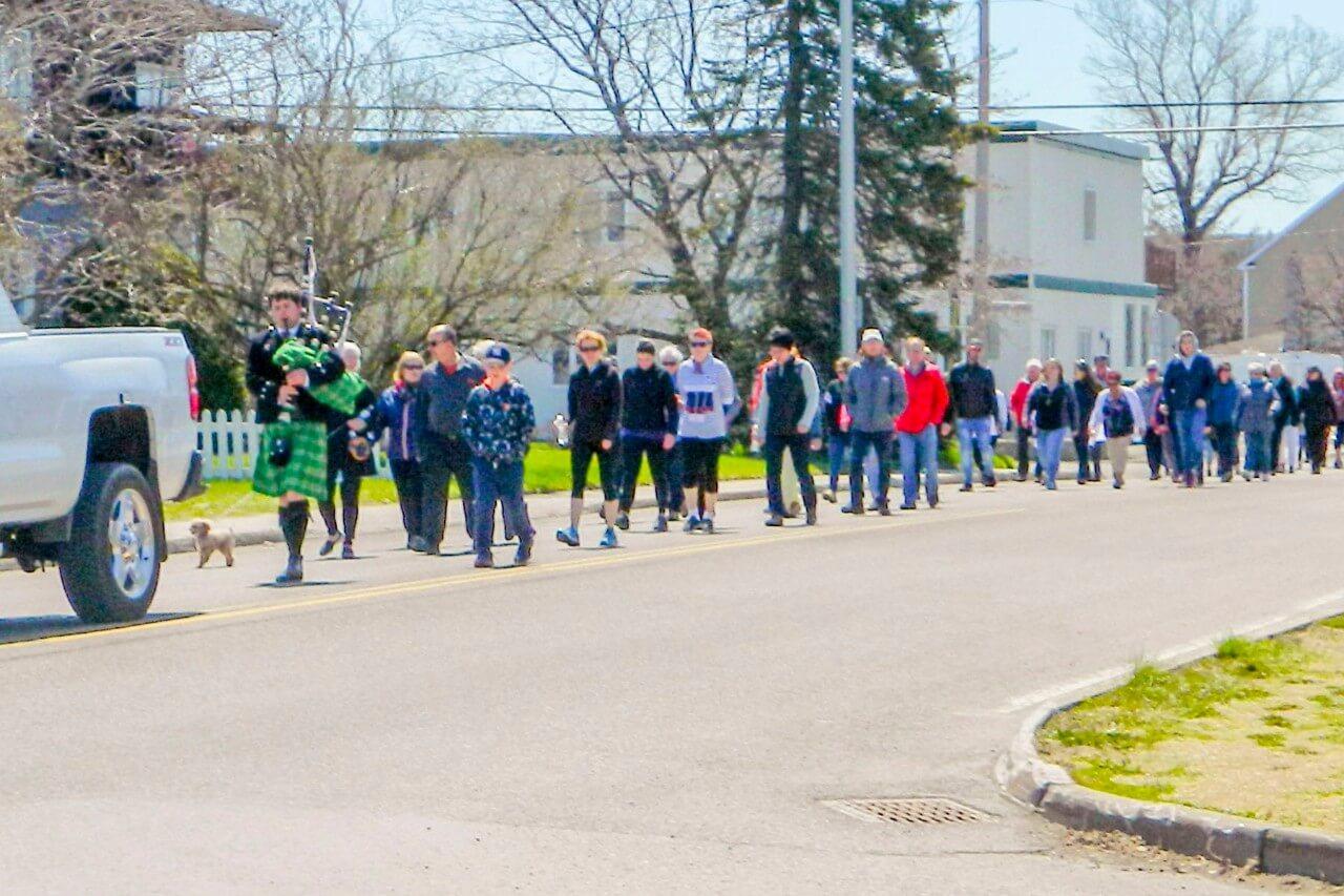 Marche pour l'Alzheimer Fondation Paul-Pineault Matane