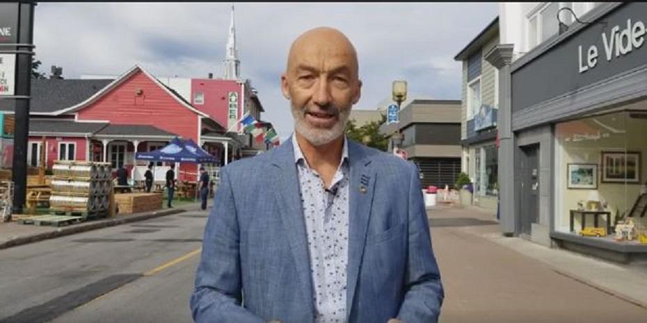 Le maire Marc Parent.