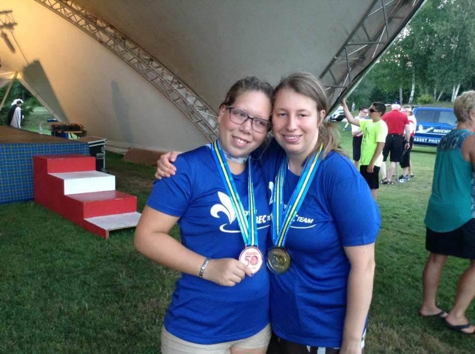 Cinq athlètes de Joliette brillent aux Jeux Olympiques spéciaux