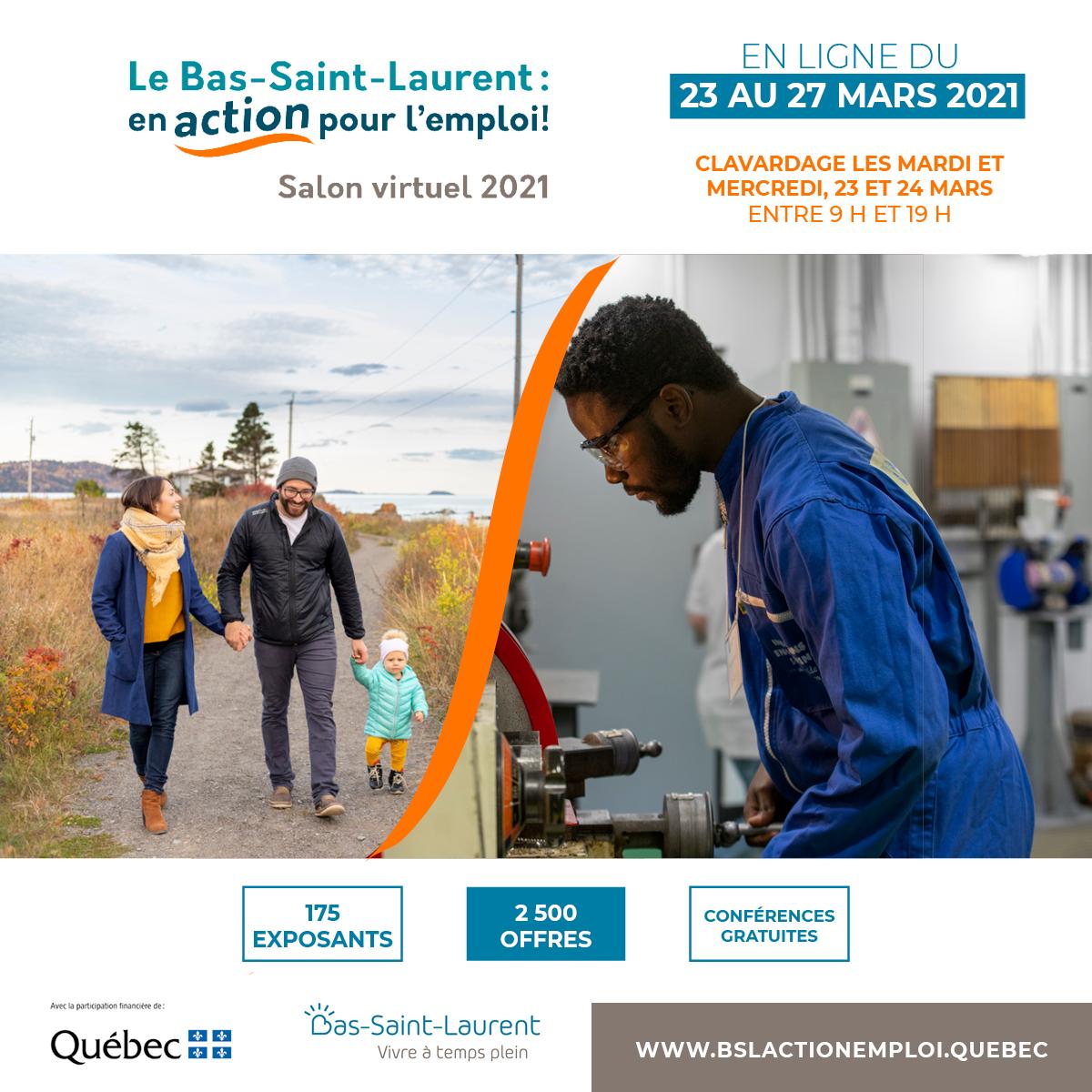 Bas St-Laurent Emploi