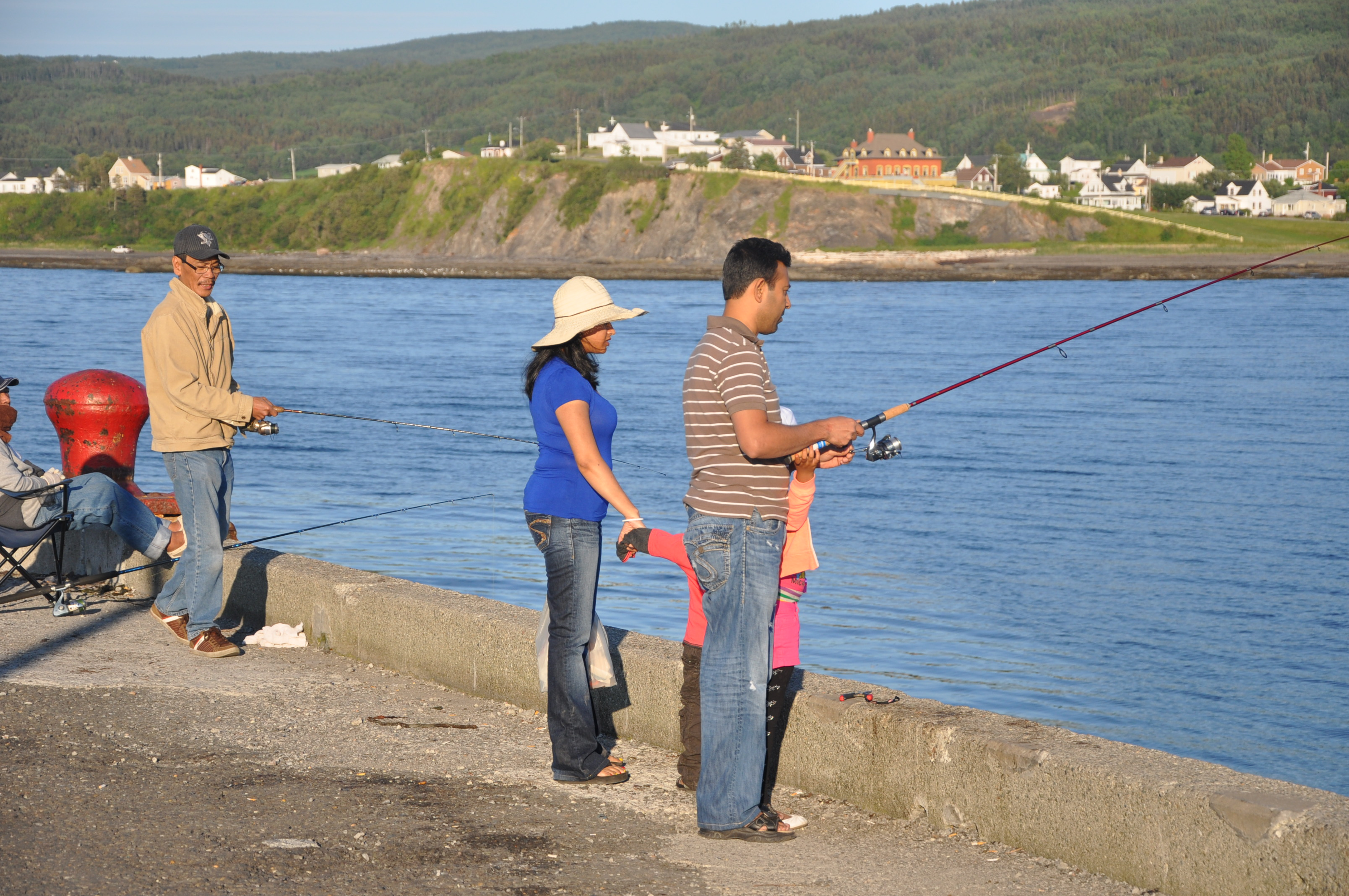 Pêche à Repentigny