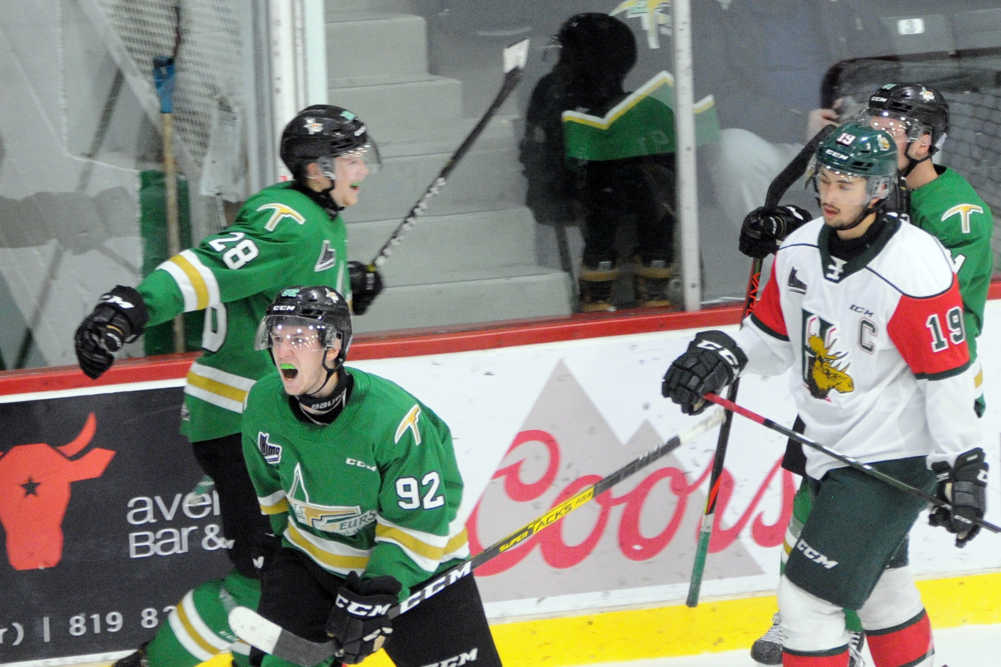 Mooseheads Halifax - Foreurs Val-d'Or