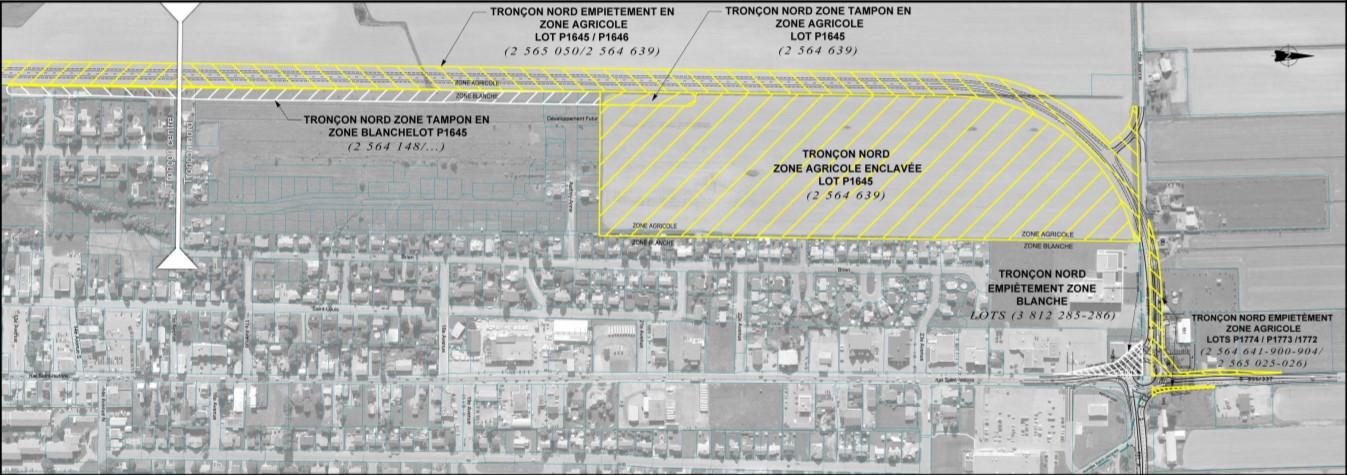 Plan projet de voie de contournement