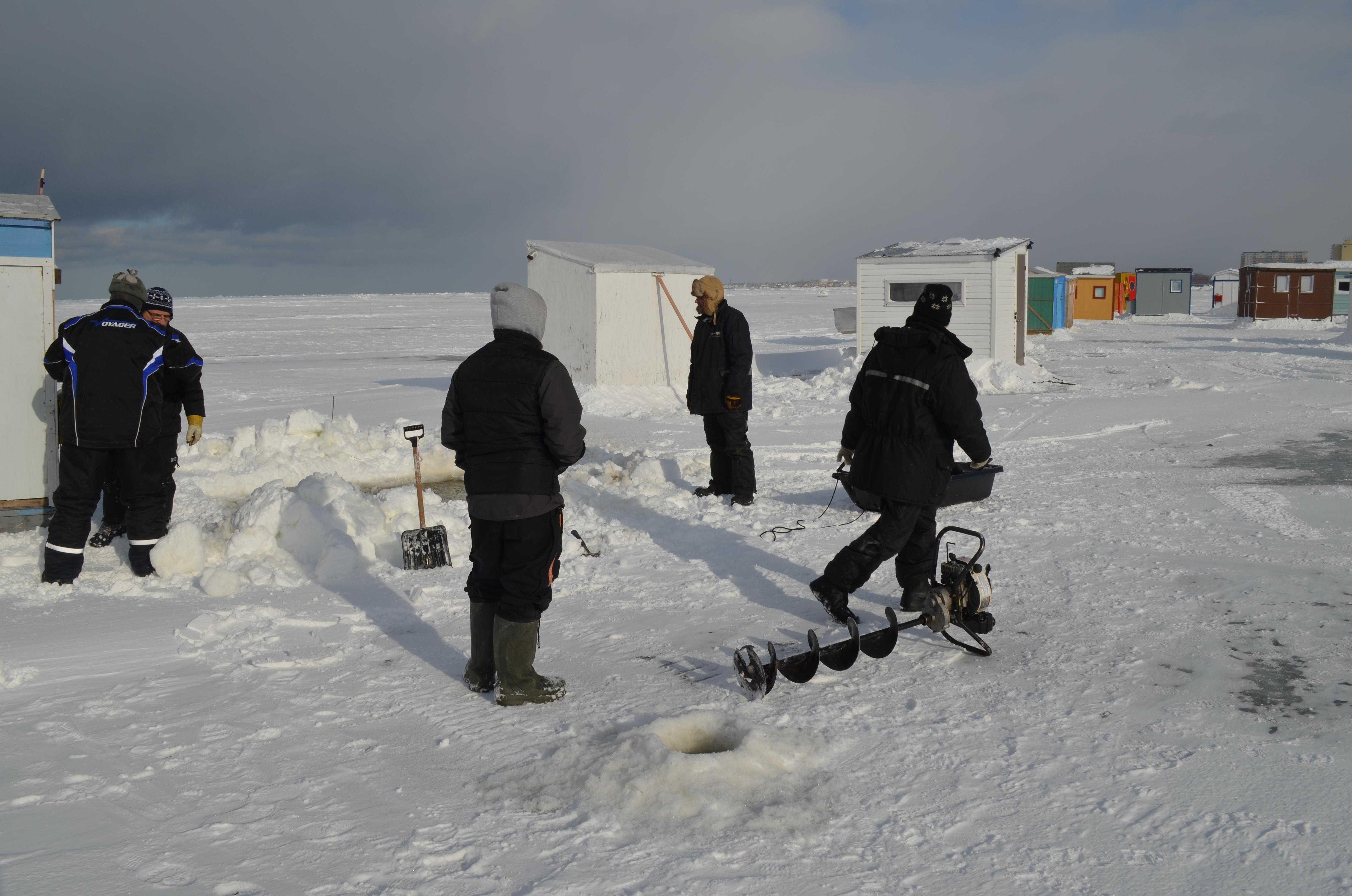 La 6e activité de pêche « Michel-Daigle pour Moisson Rimouski - Neigette » revient du 6 au 9 février.
