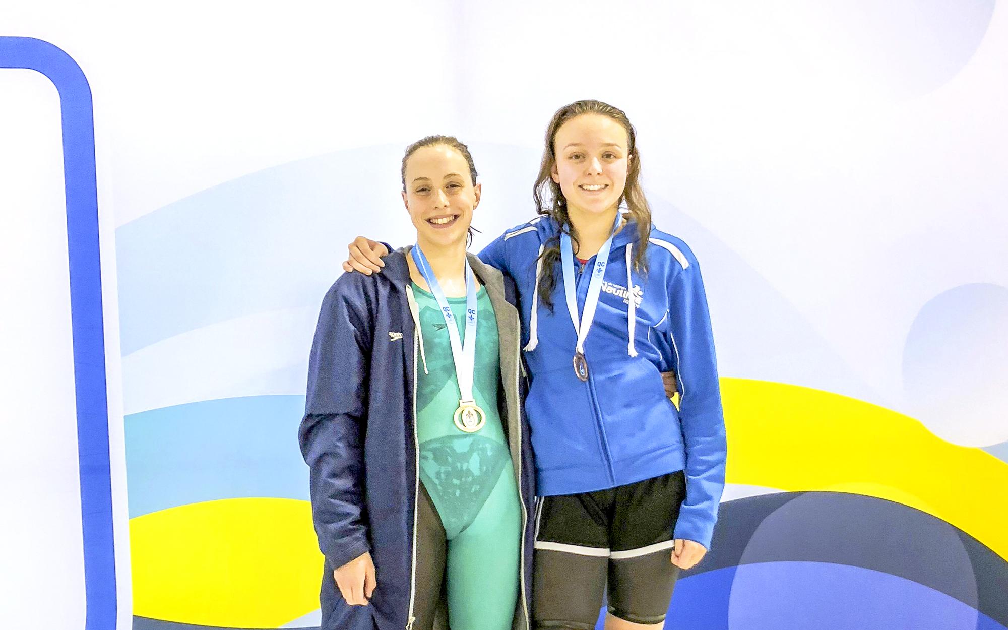 Sandy Tremblay Nautilus de Matane natation