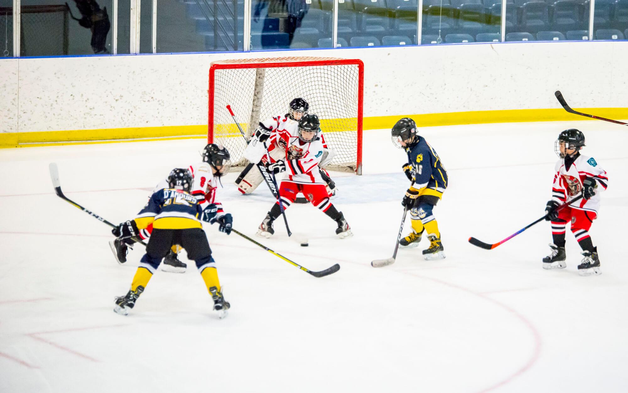 Hockey mineur Matane Sieurs Desjardins colisée tournoi Denis Labrie