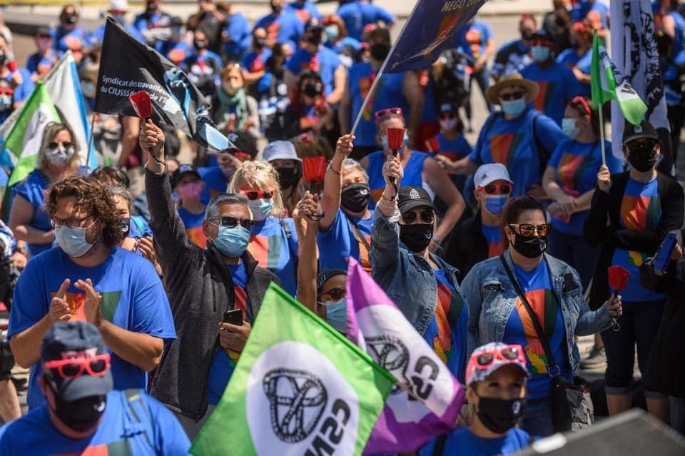 CSN, grève, Conseil central du Bas-Saint-Laurent CSN