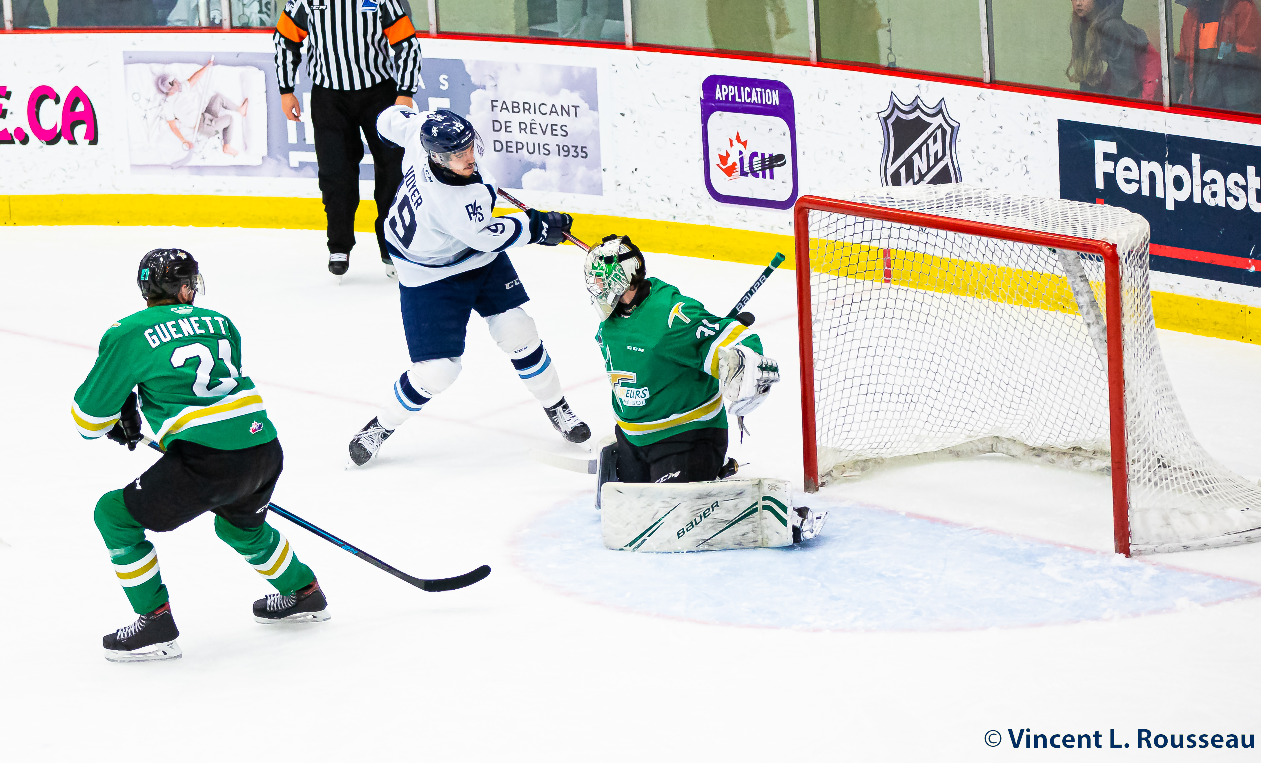 Foreurs Val-d'Or - Phoenix Sherbrooke