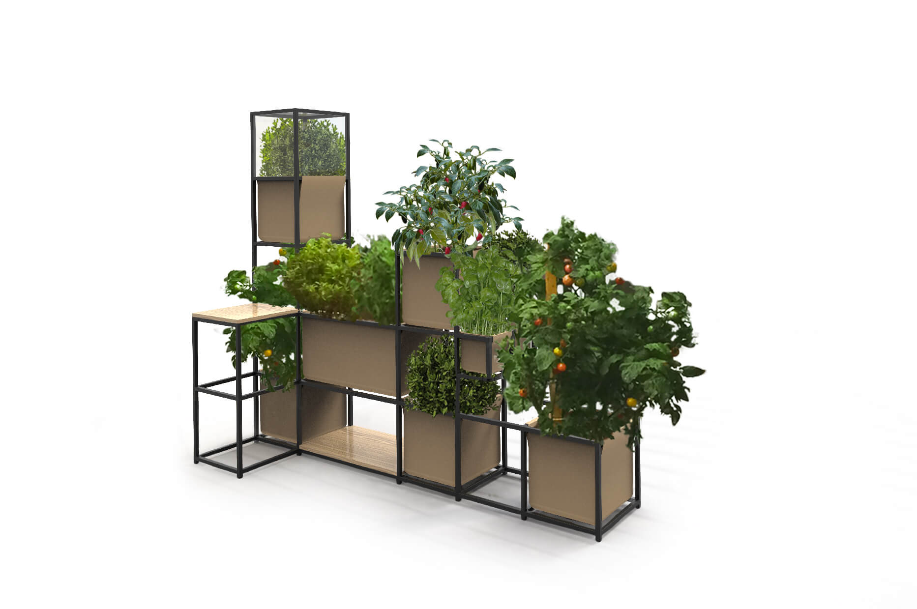Modulair Garden, une invention « verte » prometteuse