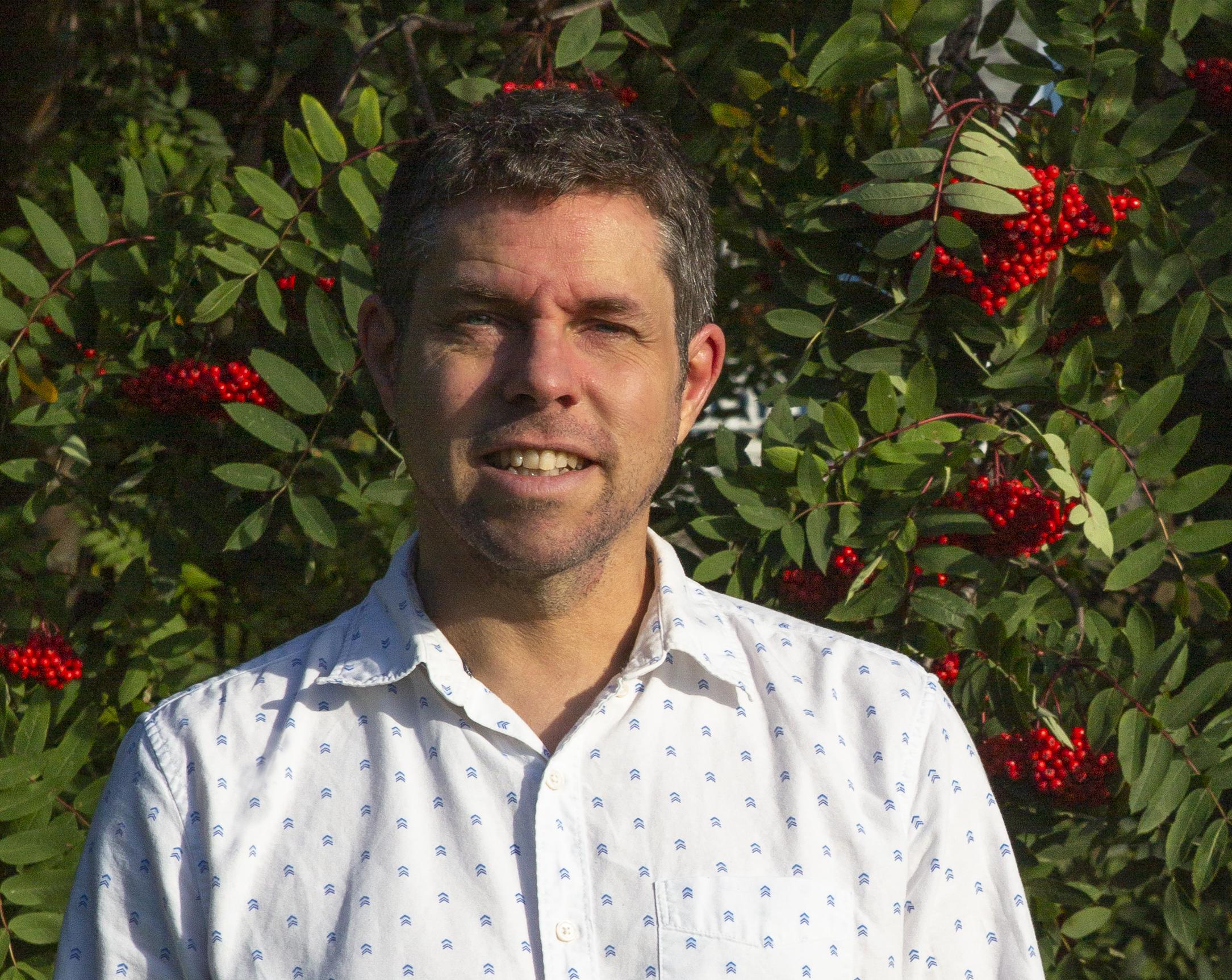 Martin Reid, maire de Saint-Octave-de-Métis