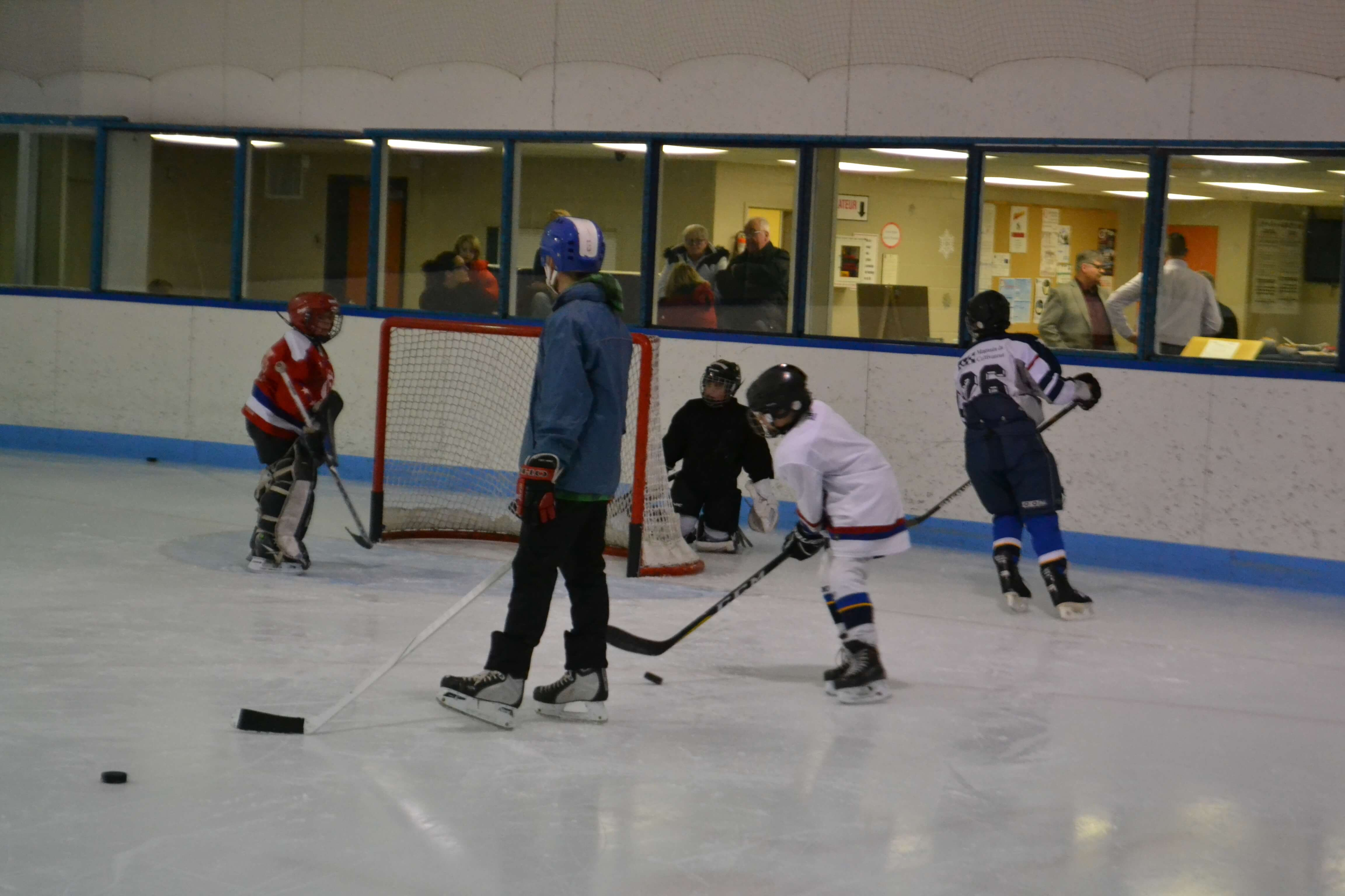 école hockey