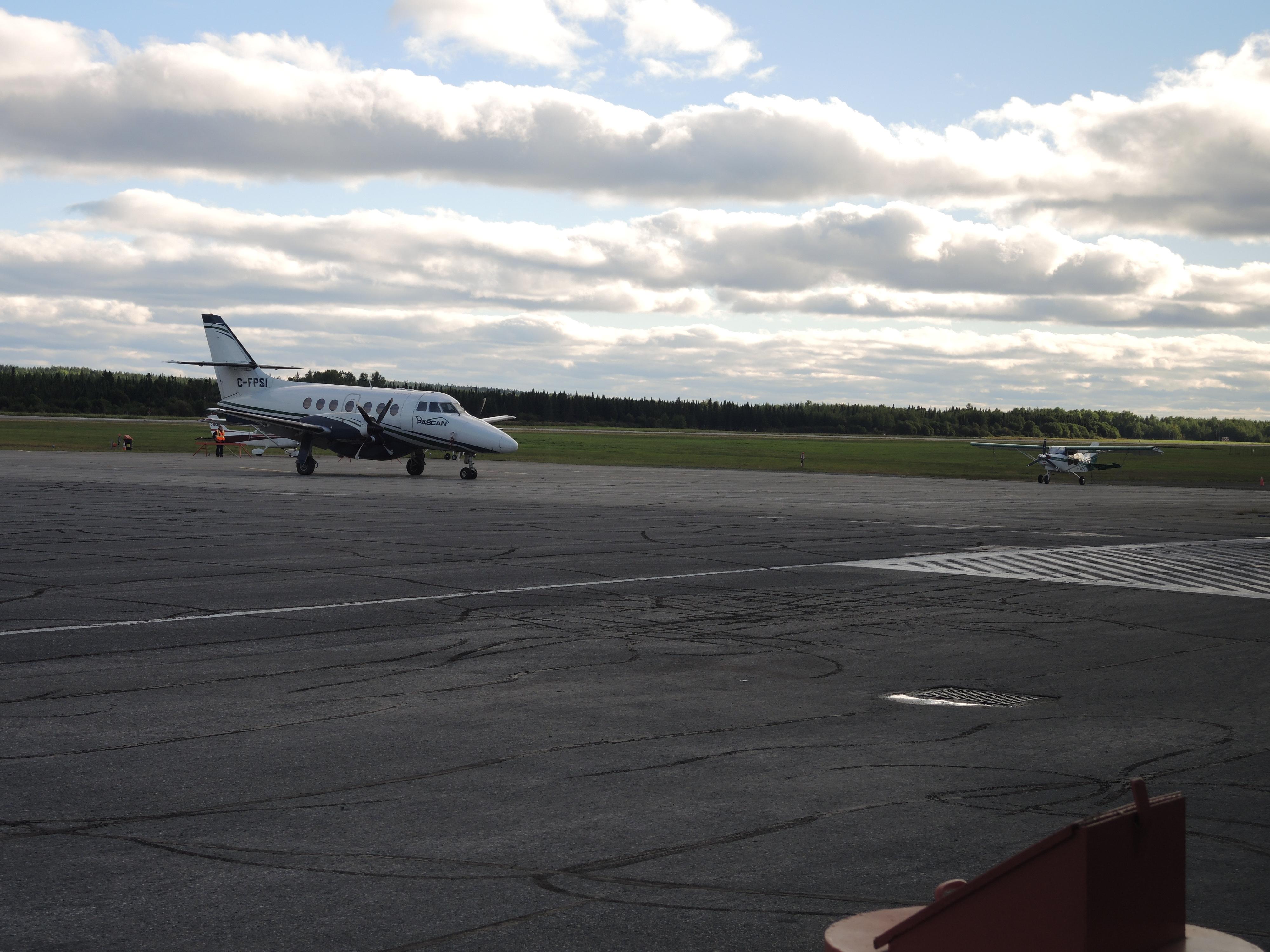 Aéroport Rouyn-Noranda vol avion