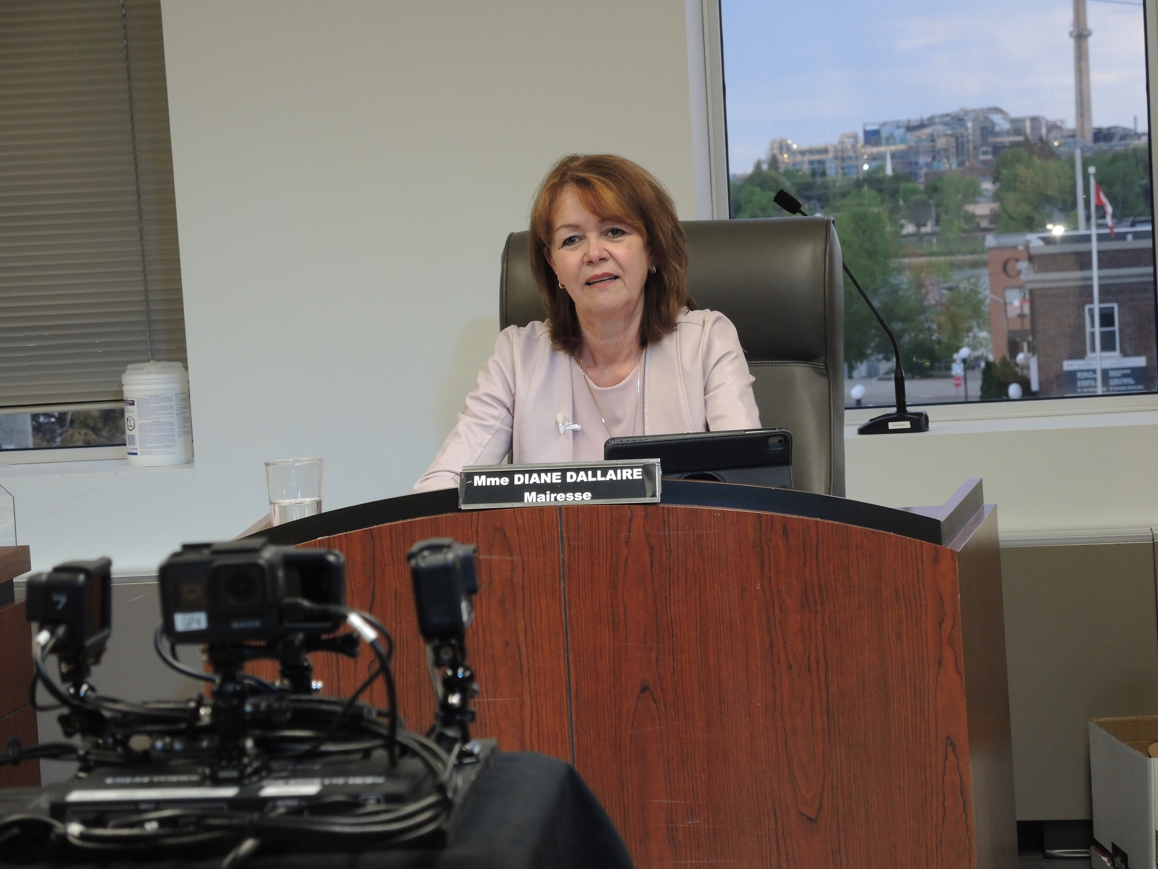 Diane Dallaire mairesse de Rouyn-Noranda 31 mai 2021