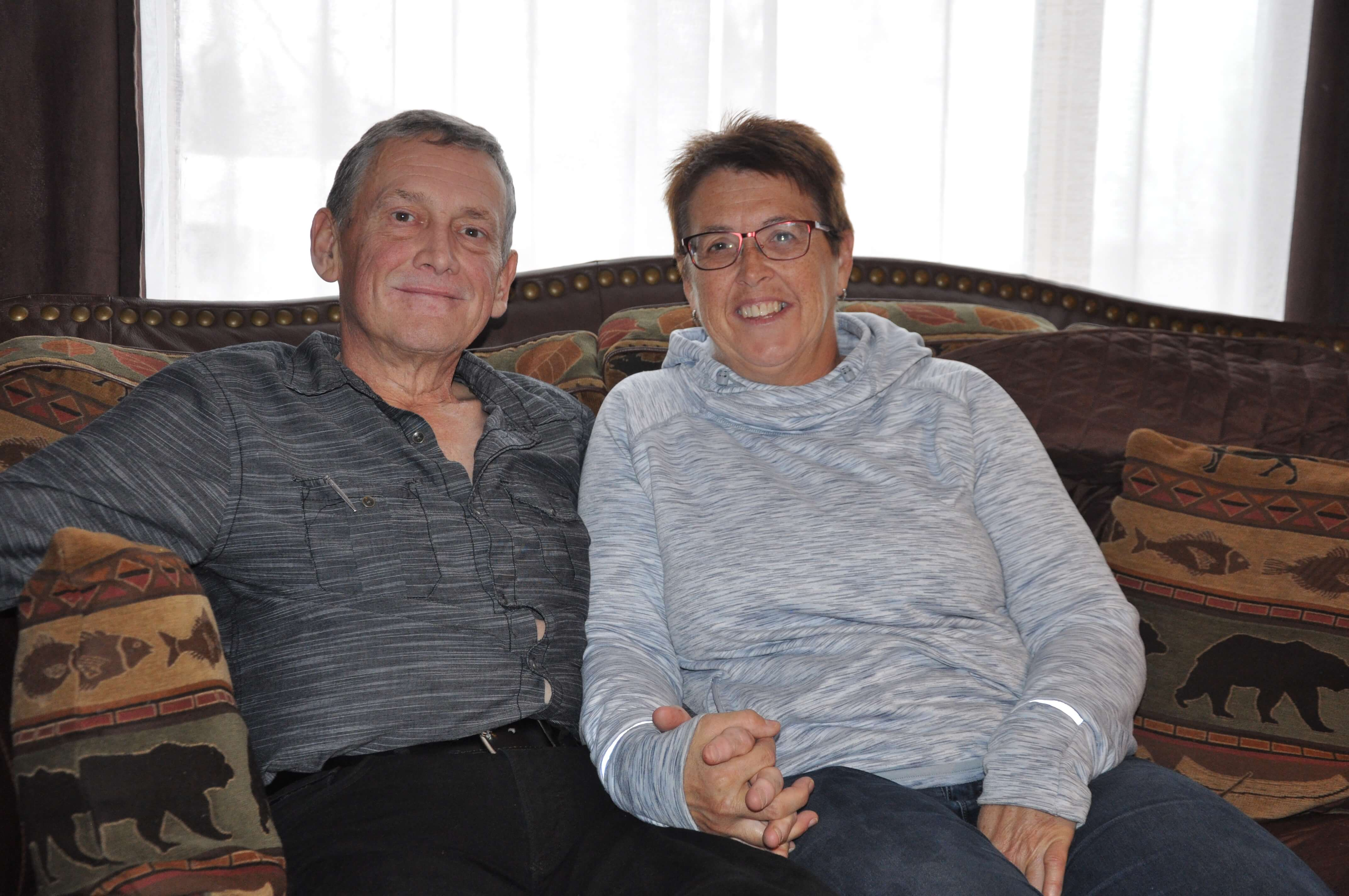 Daniel Chapman et Sylvie Mirault
