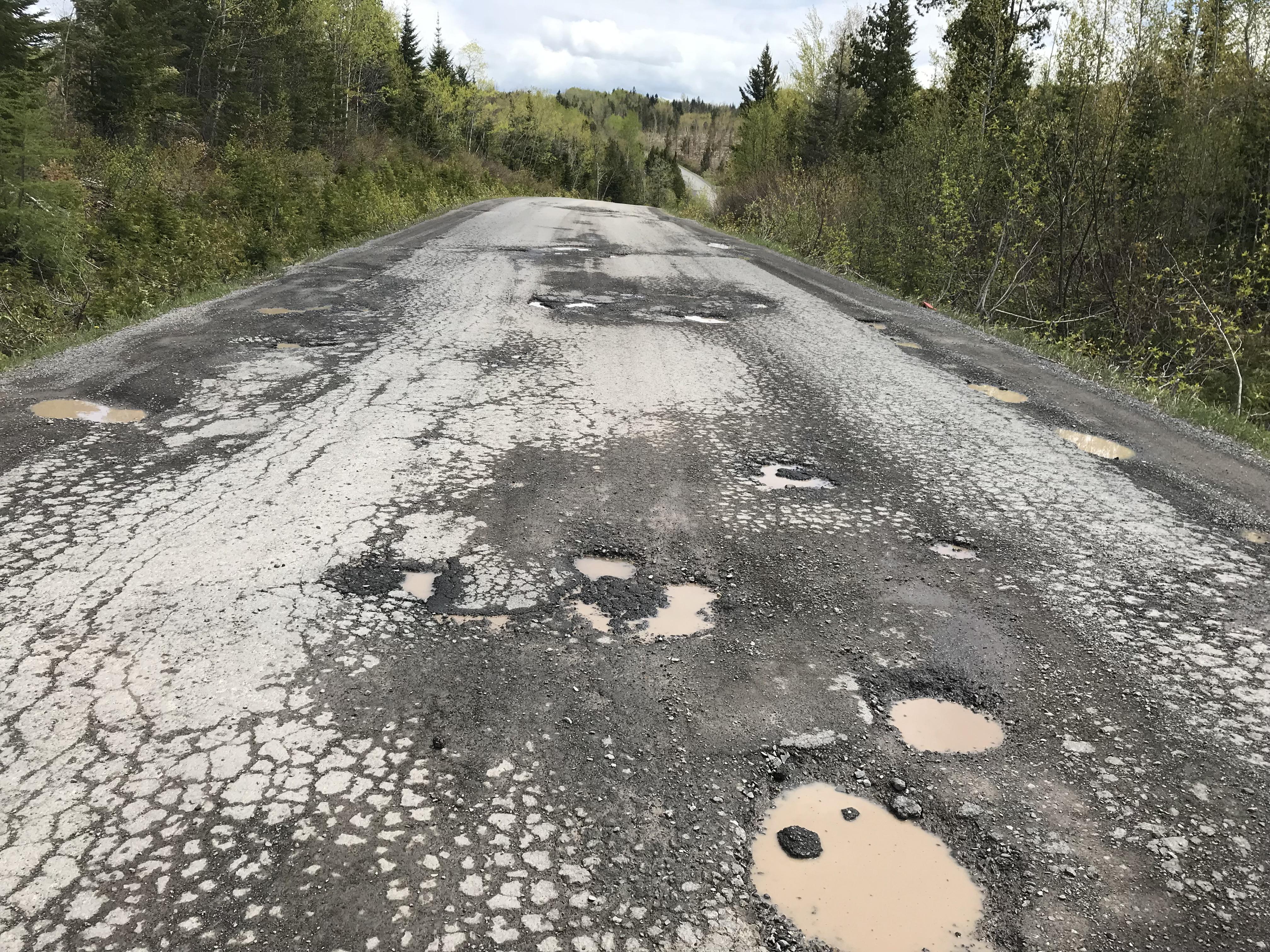 Route du Lac-Malcolm