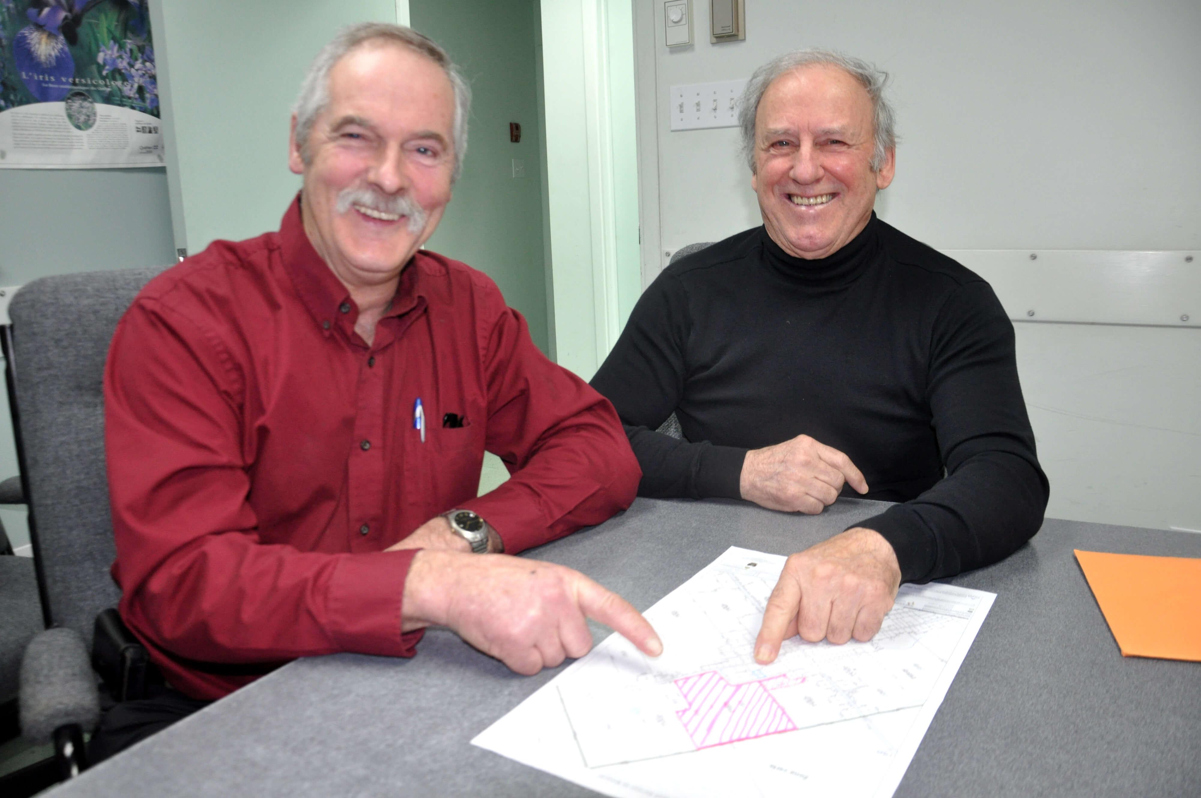 Robert Duchesne et Bertrand Landry