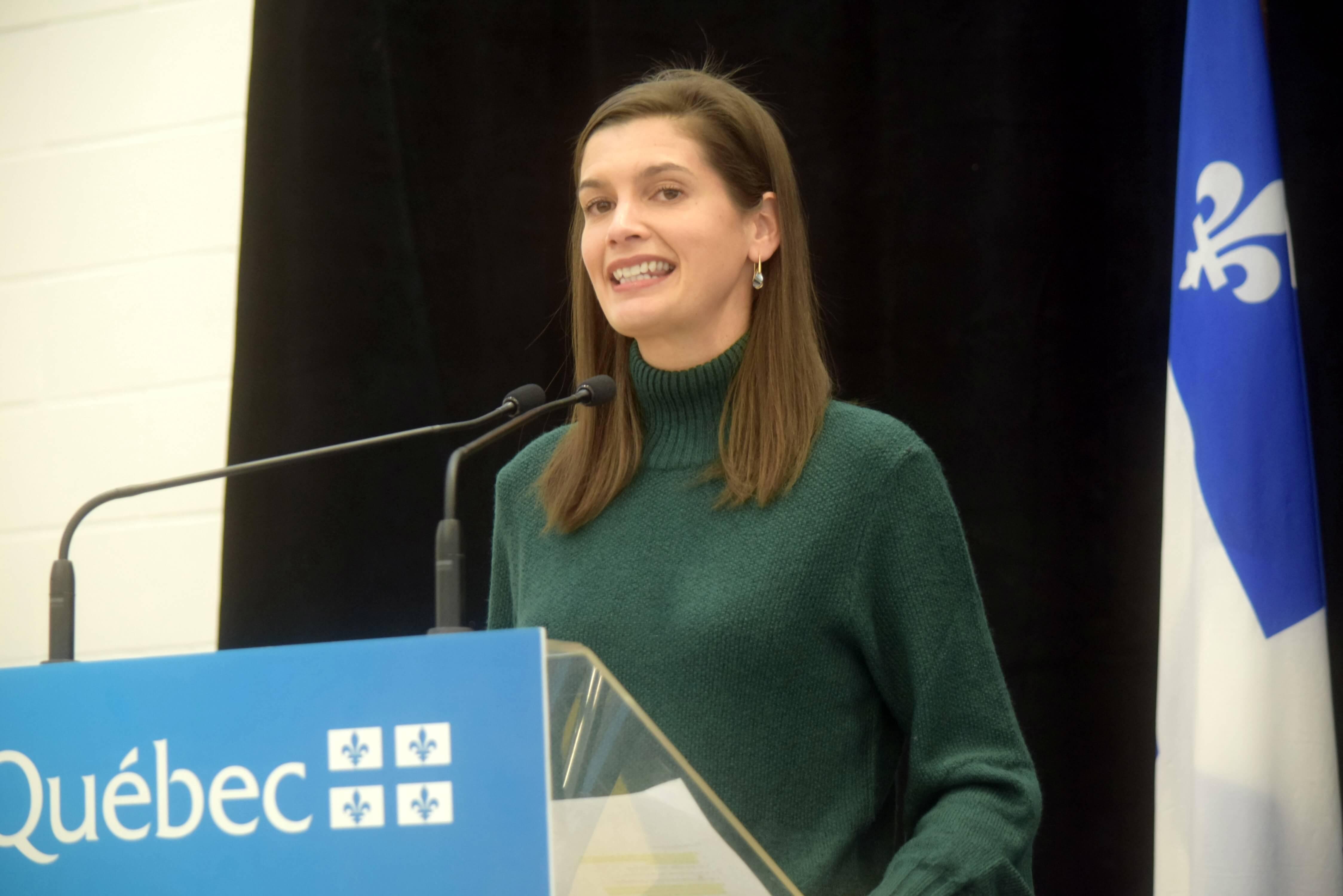 Geneviève Guilbault ministre sécurité publique