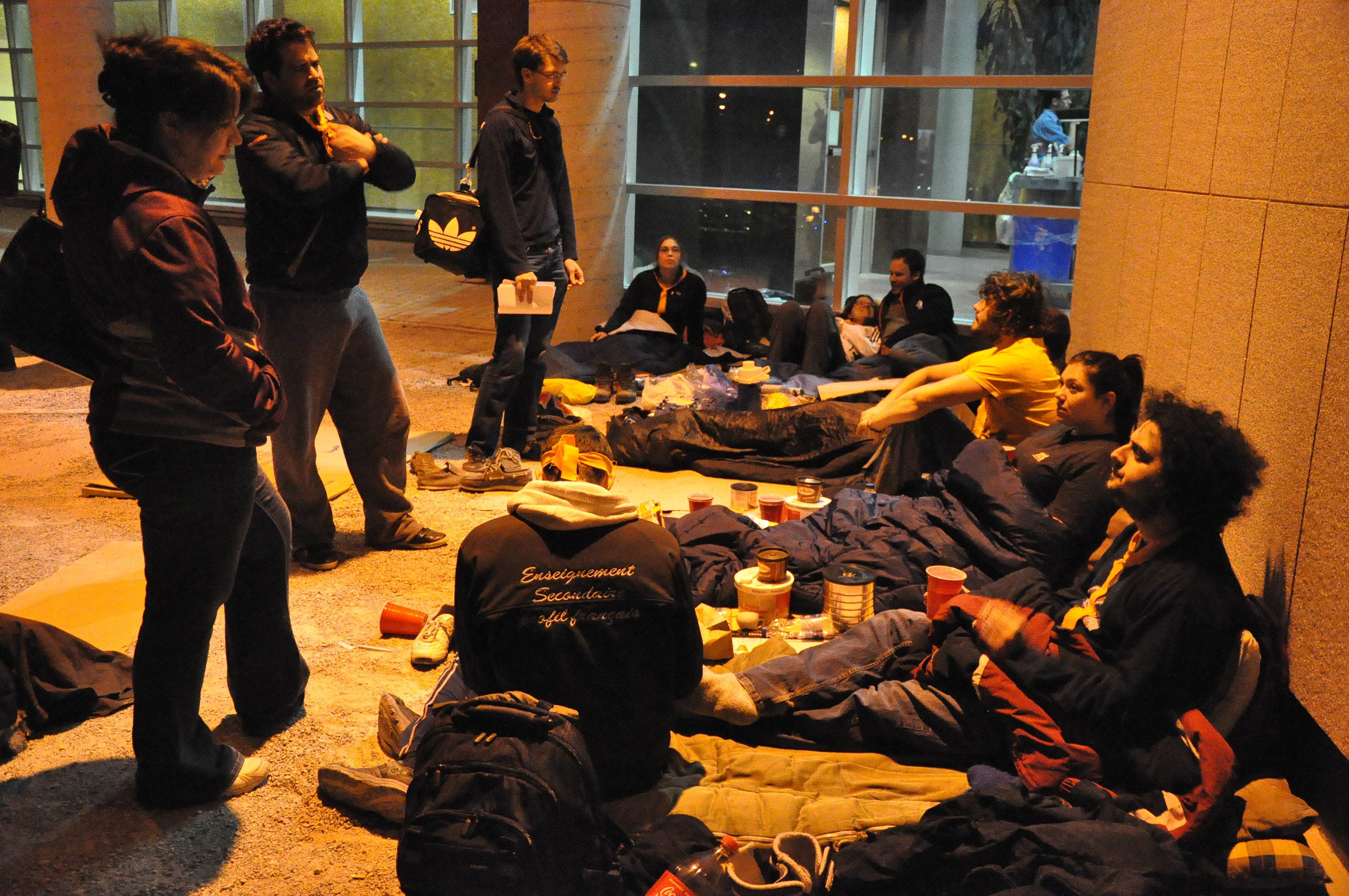 Nuit des sans-abris