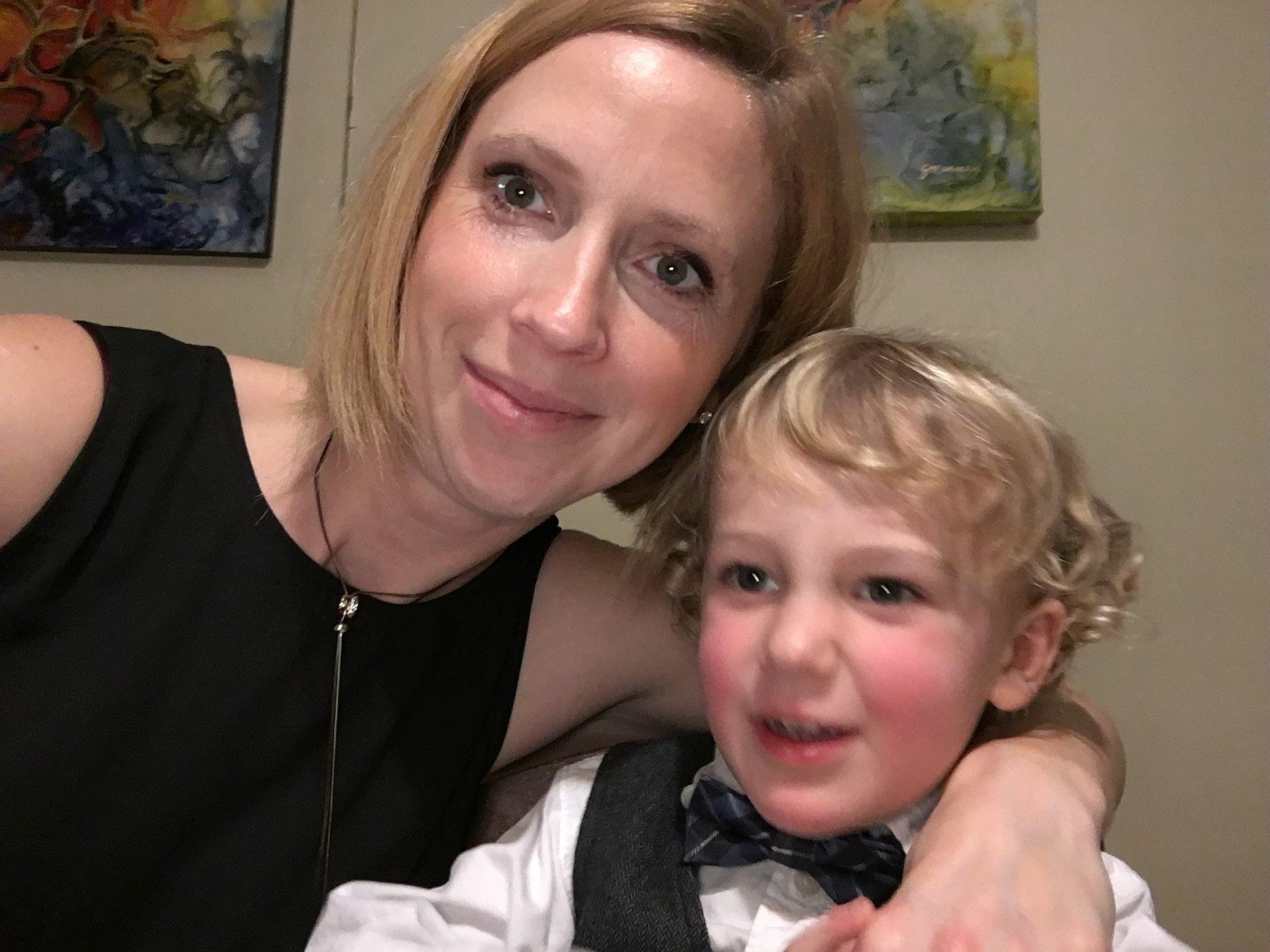 Sophie Marmen et son garçon