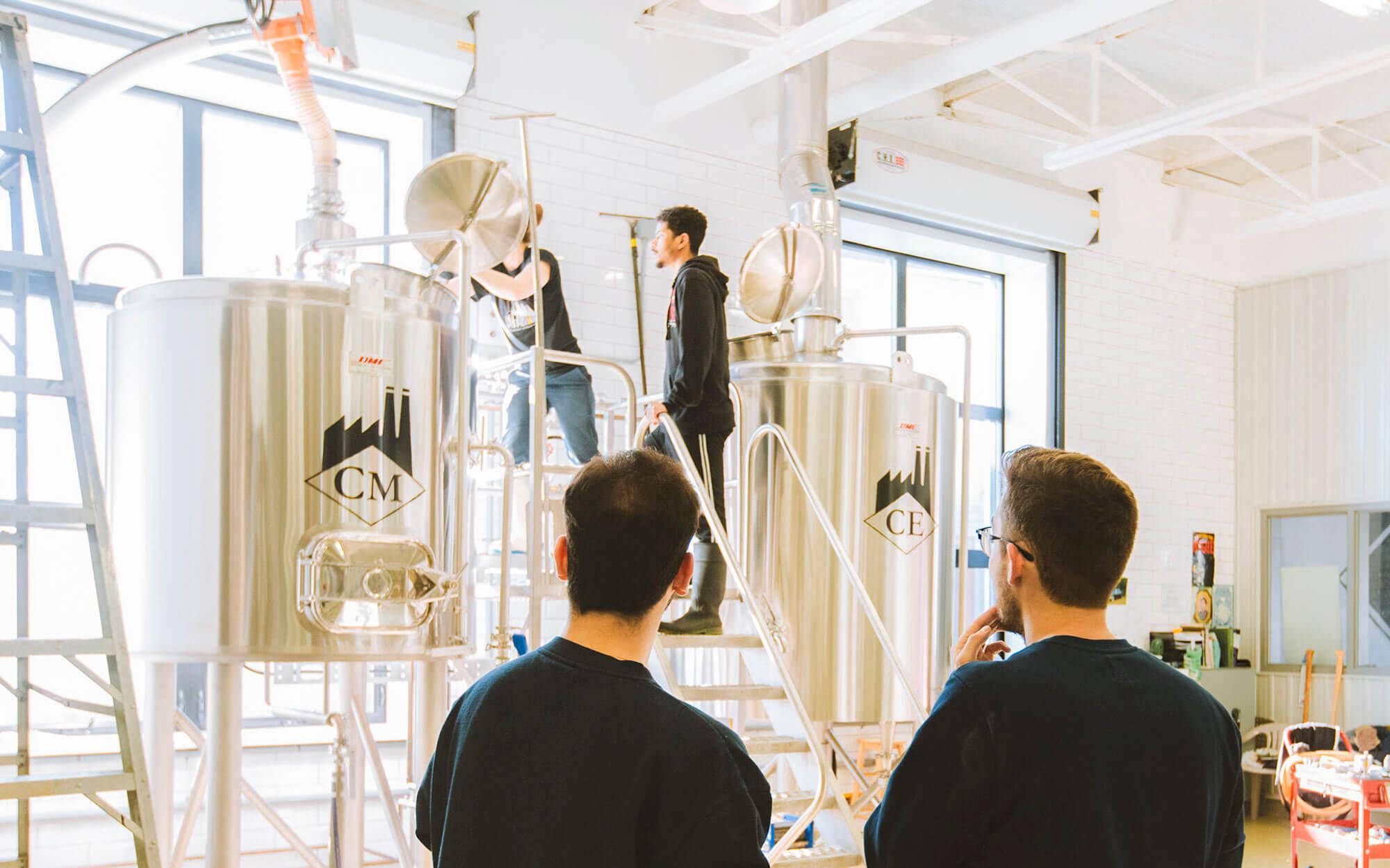 Cégep de Matane entreprise étudiante Aurores groupe les Expats fabrication bière Sterna microbrasserie La Fabrique