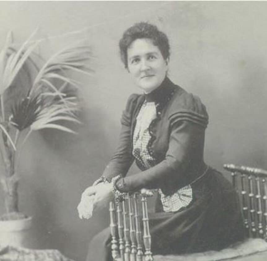 Robertine Barry, la première femme journaliste canadienne-française de l'histoire et figure de proue du féminisme québécois.