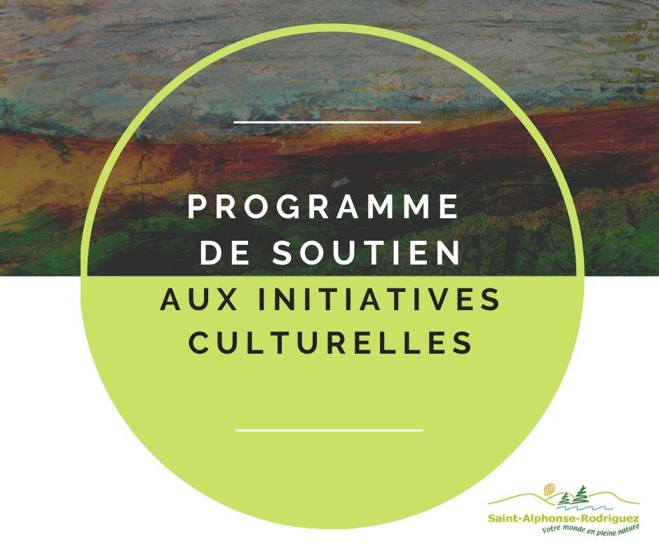 Programme soutien initiatives culturelles