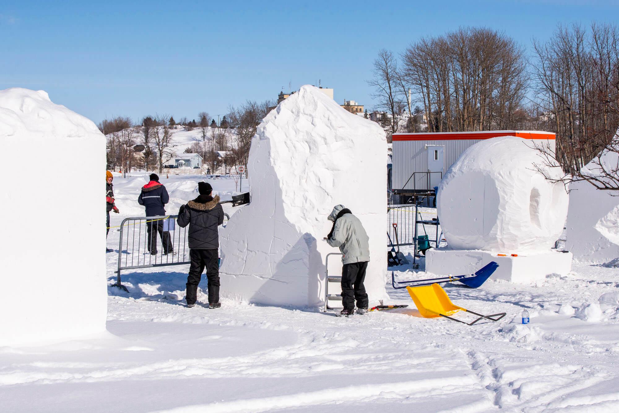 Opti-Neige 2019 Matane festival hivernal