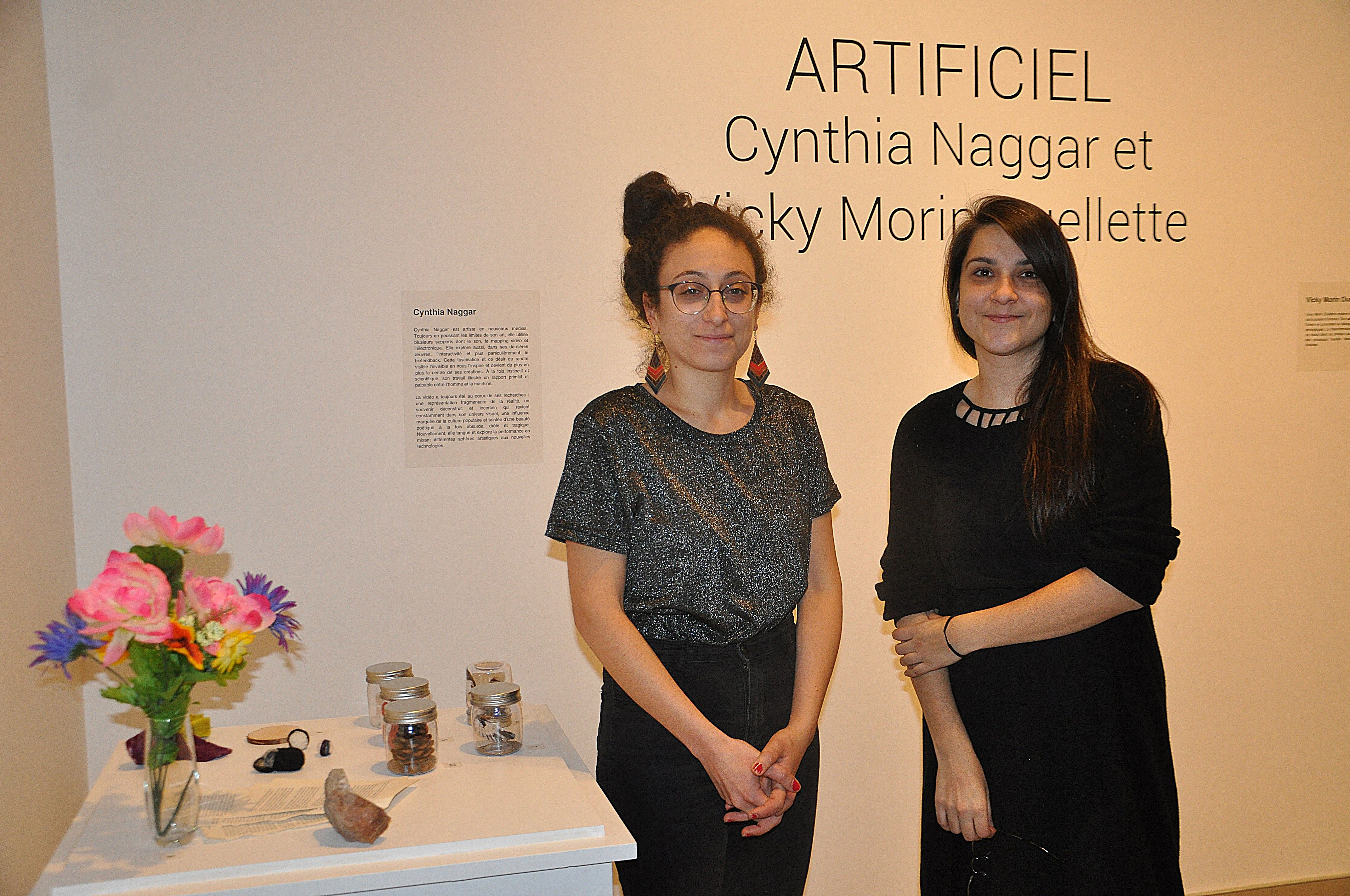 Cynthia Naggar et Vicky Morin Ouellette