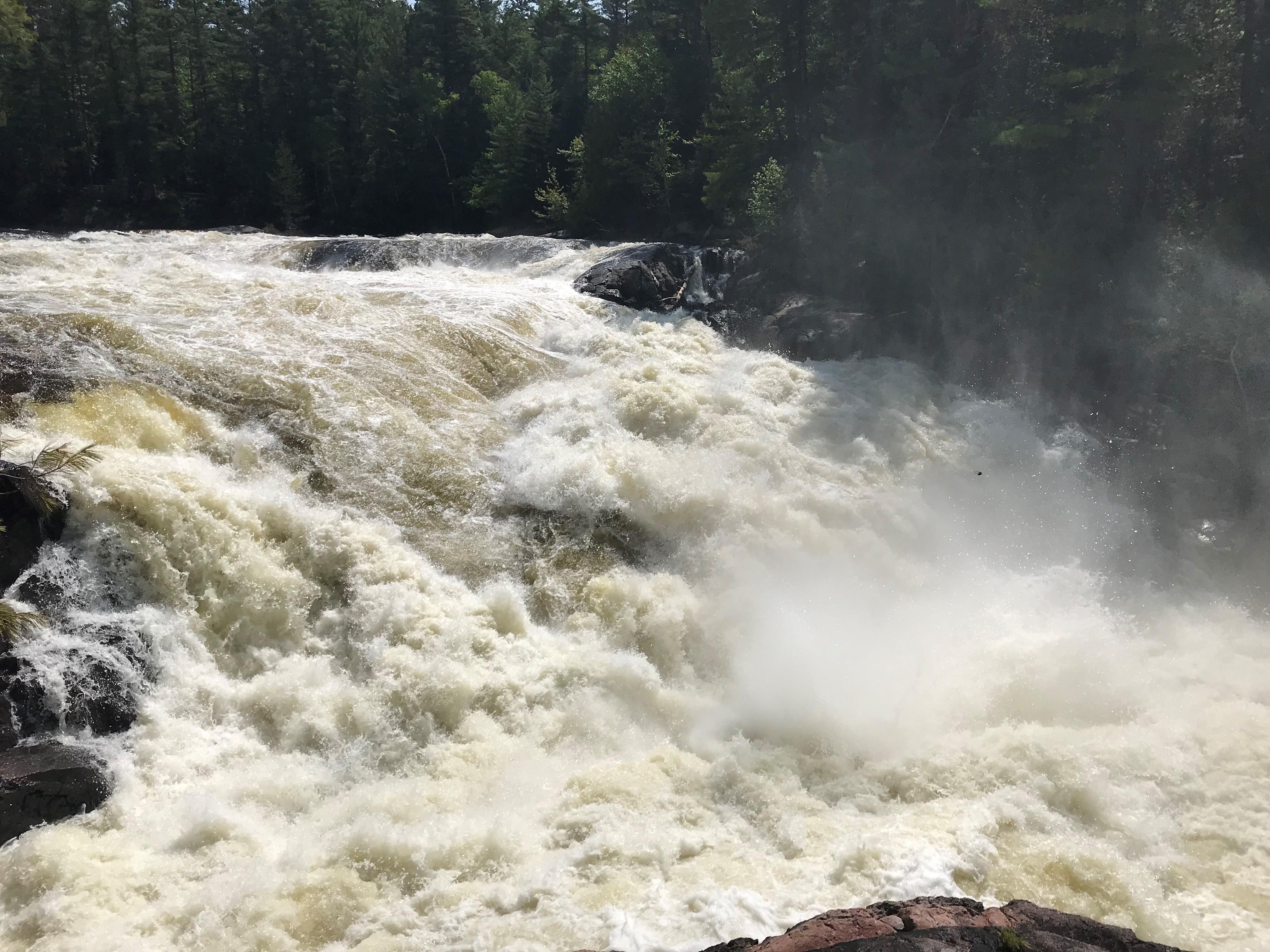 la grande chute rivière kipawa