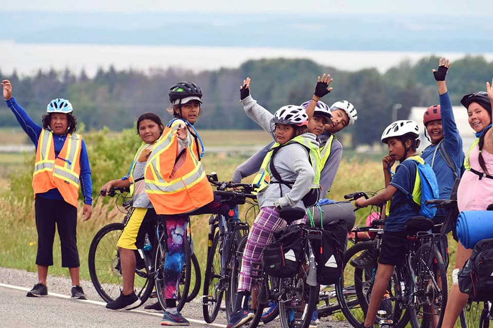 Cyclistes de Kitcisakik