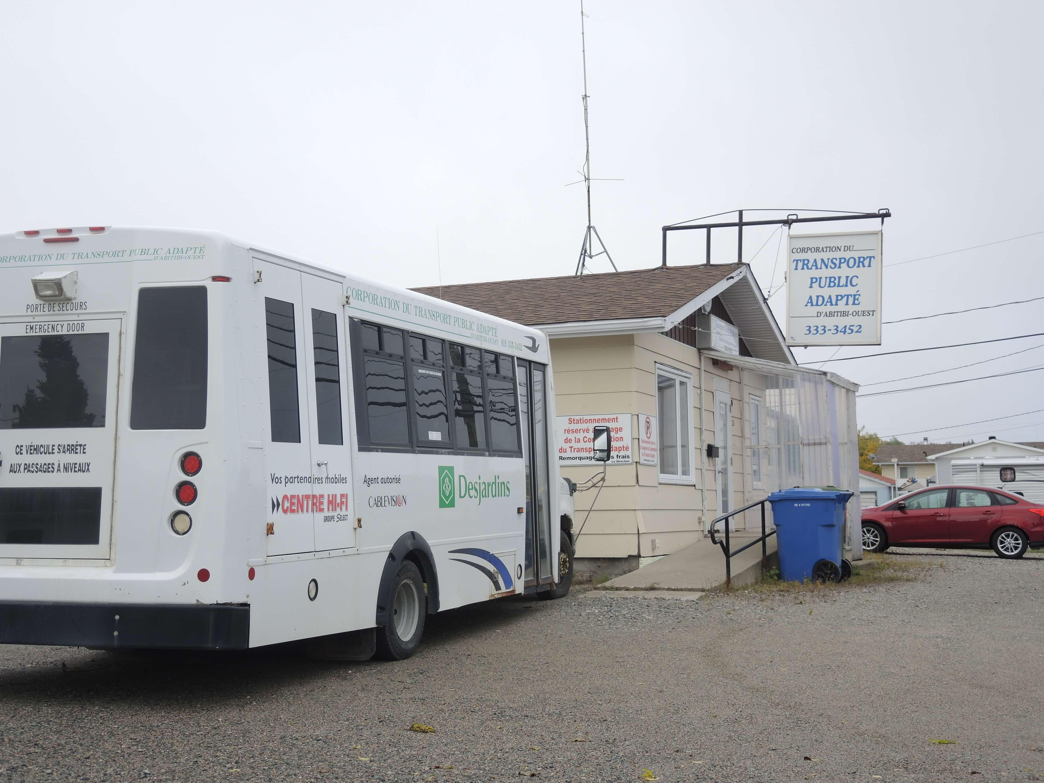 Transport adapté La Sarre Abitibi Ouest