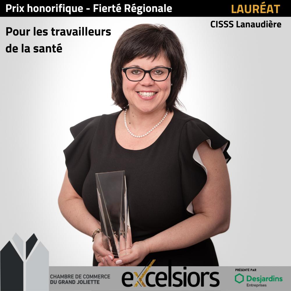 Prix Fierté régionale Maryse Poupart