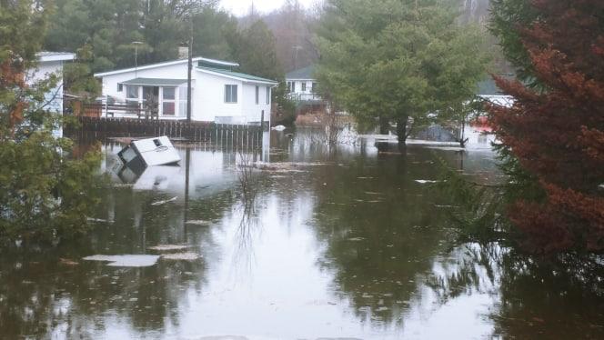 inondations Saint-Calixte
