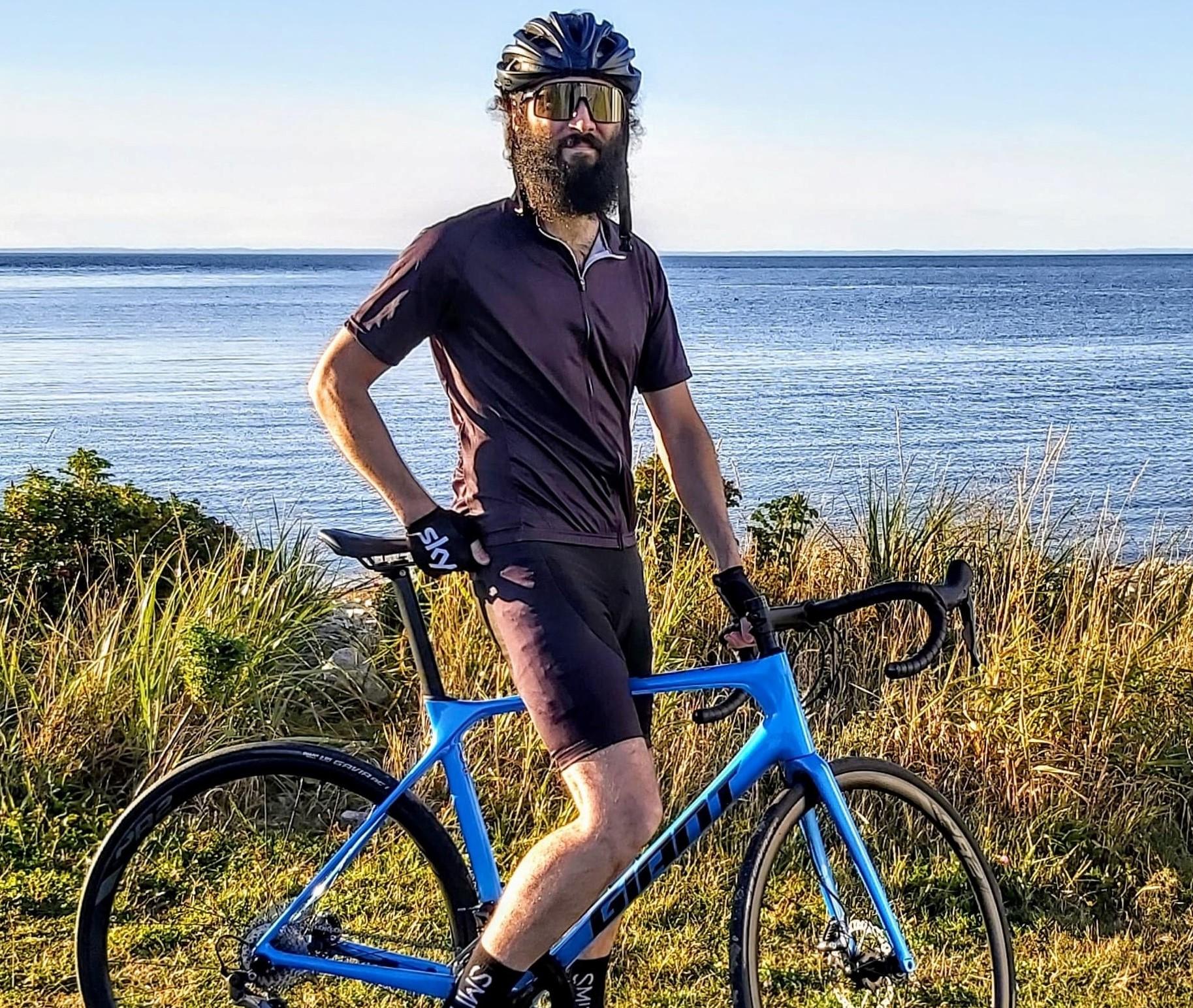 André Dumais a créé le Cyclo Défi pour la VIE en 2014.