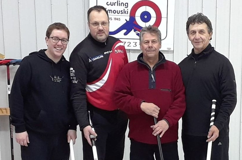Englobe champion curling