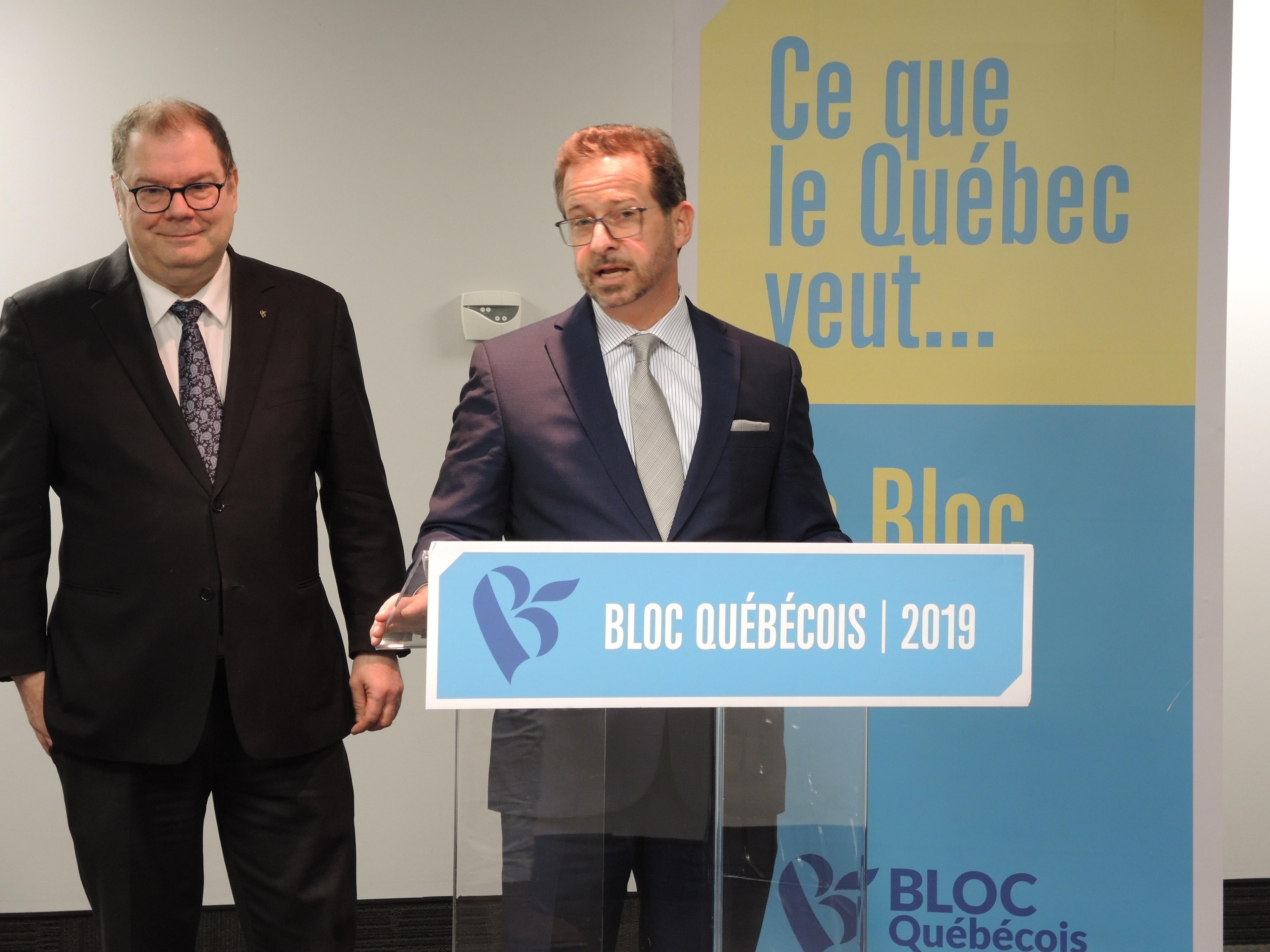 Yves-François Blanchet Mario Beaulieu Bloc québécois