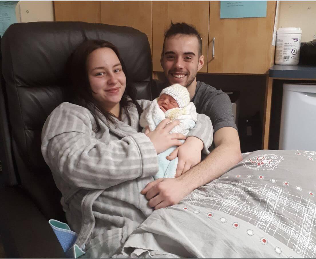 Premier bébé de l'année 2019 à Rimouski