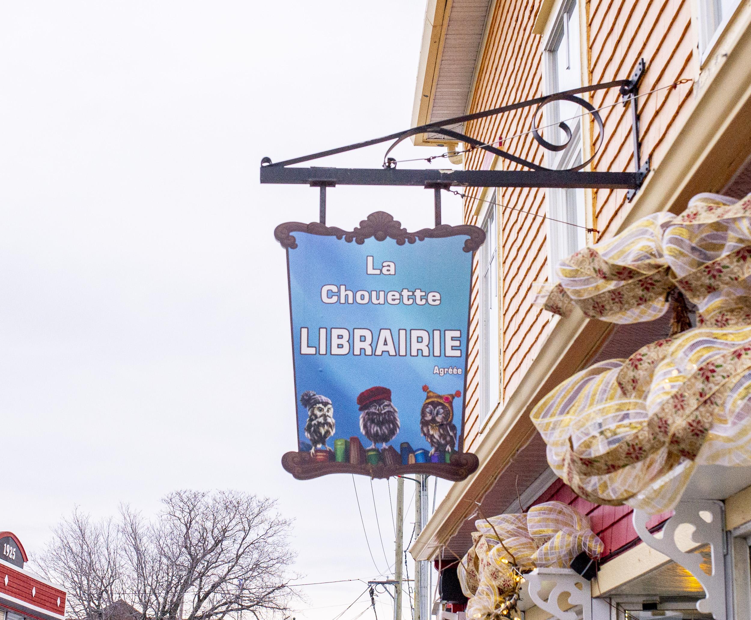 La Chouette librairie Matane